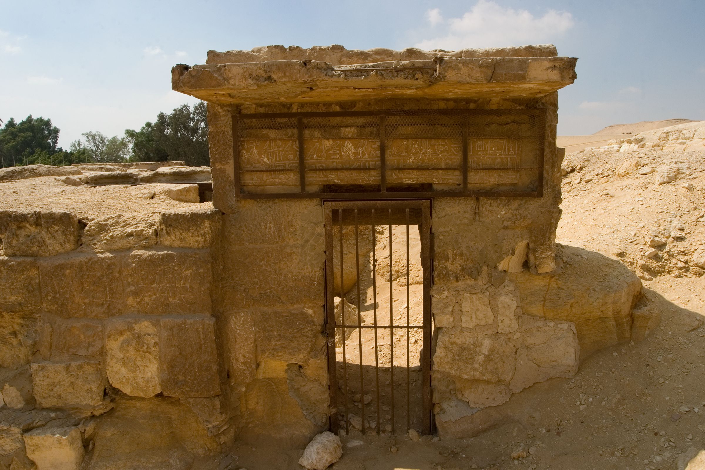 Central Field (Hassan): Site: Giza; View: G 8910