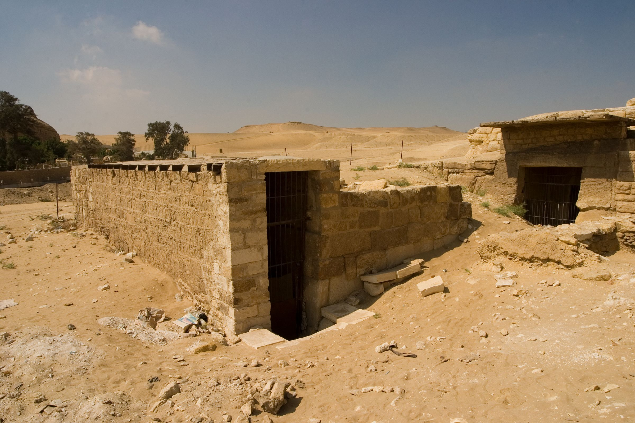 Central Field (Hassan): Site: Giza; View: Nimaatre (G 8900)