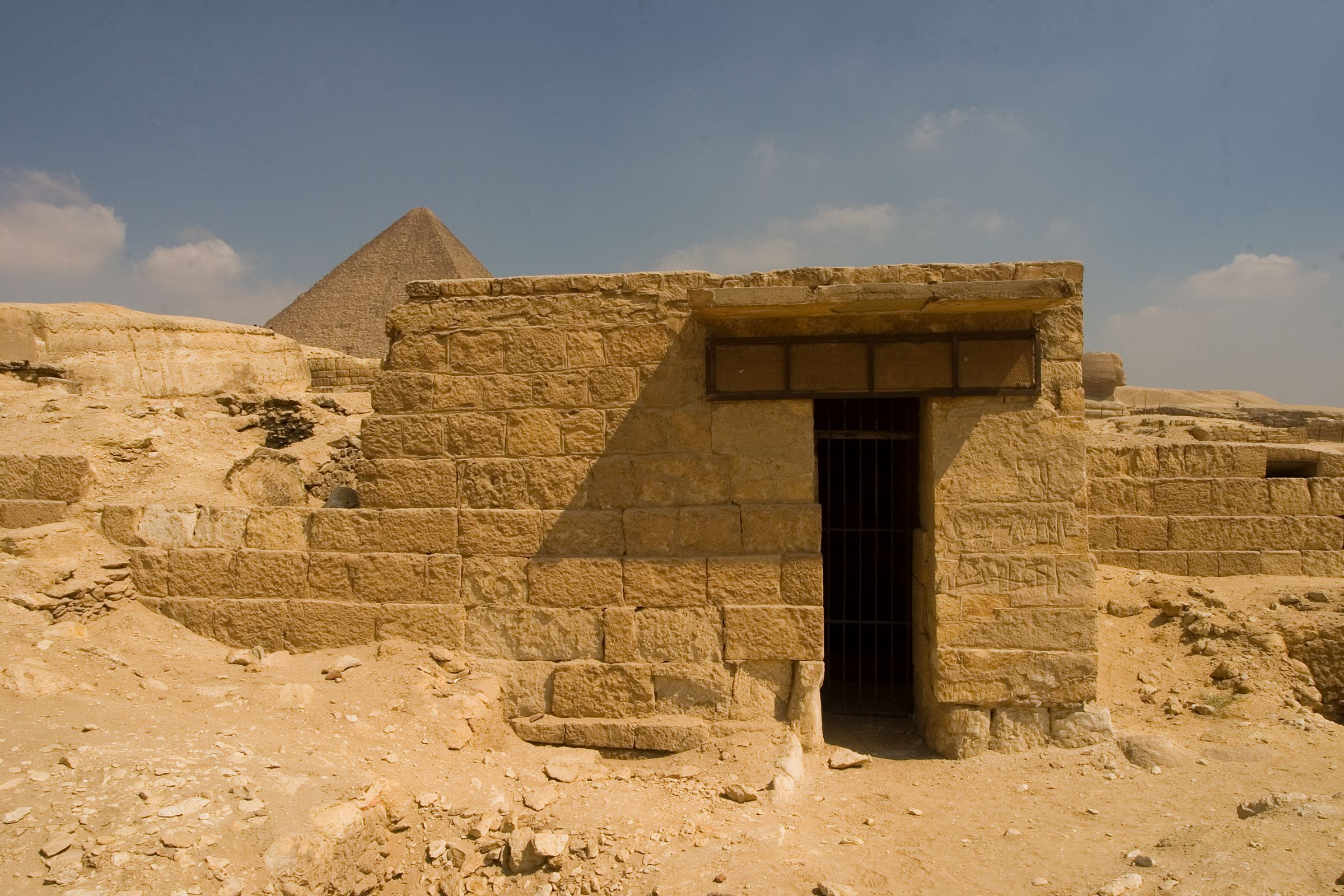 Central Field (Hassan): Site: Giza; View: G 8911