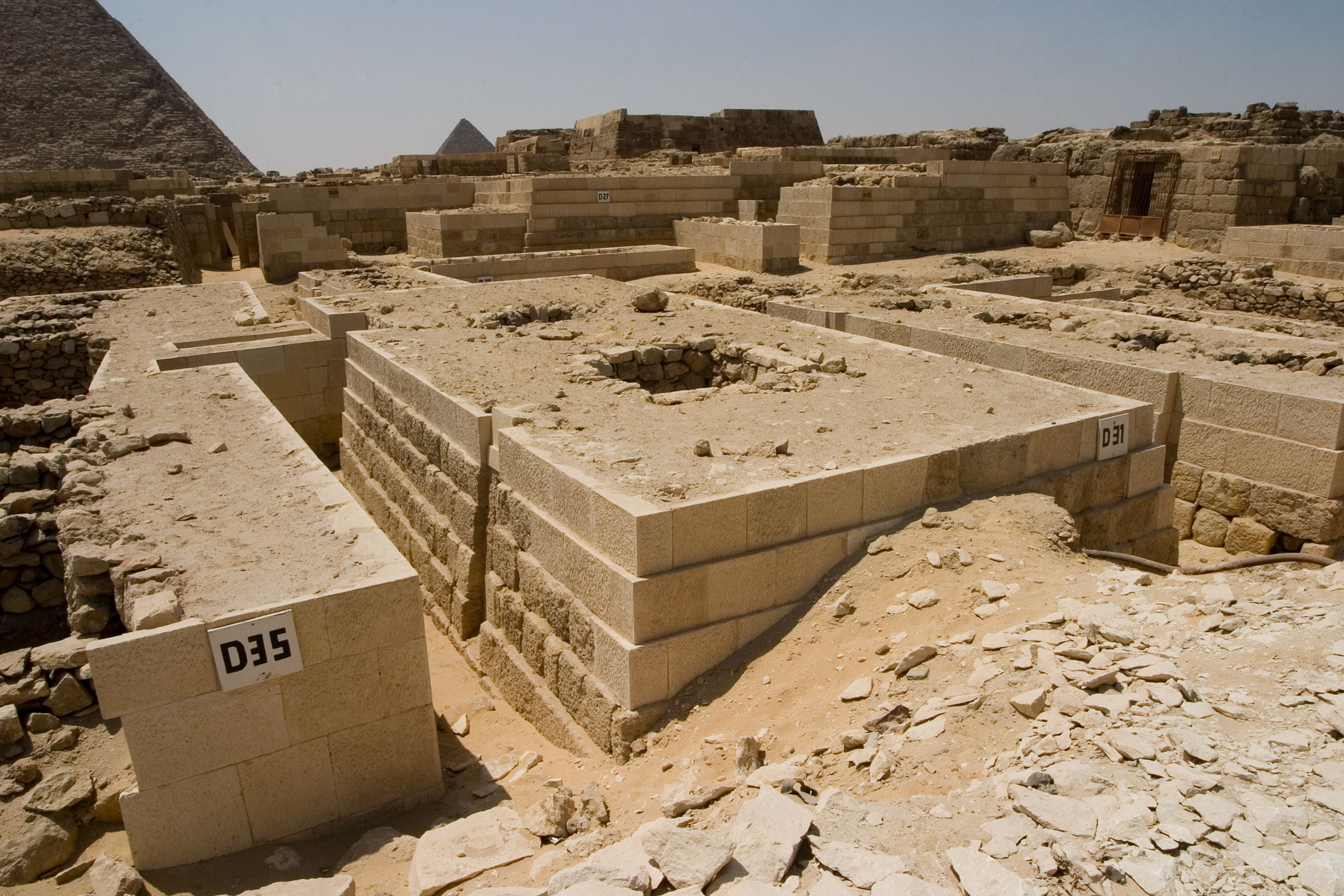 Western Cemetery: Site: Giza; View: D 31, D 35