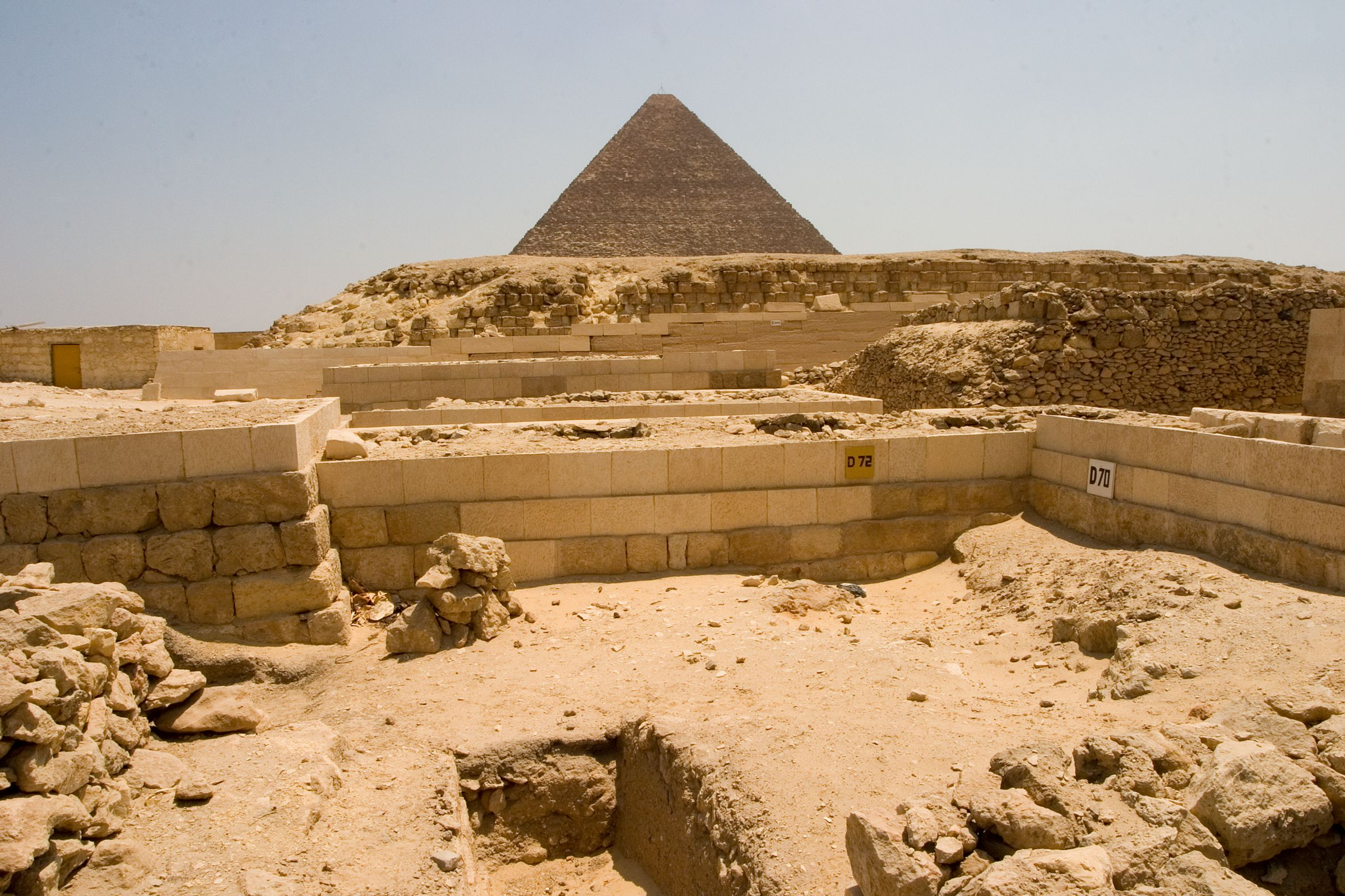 Western Cemetery: Site: Giza; View: D 72, D 70