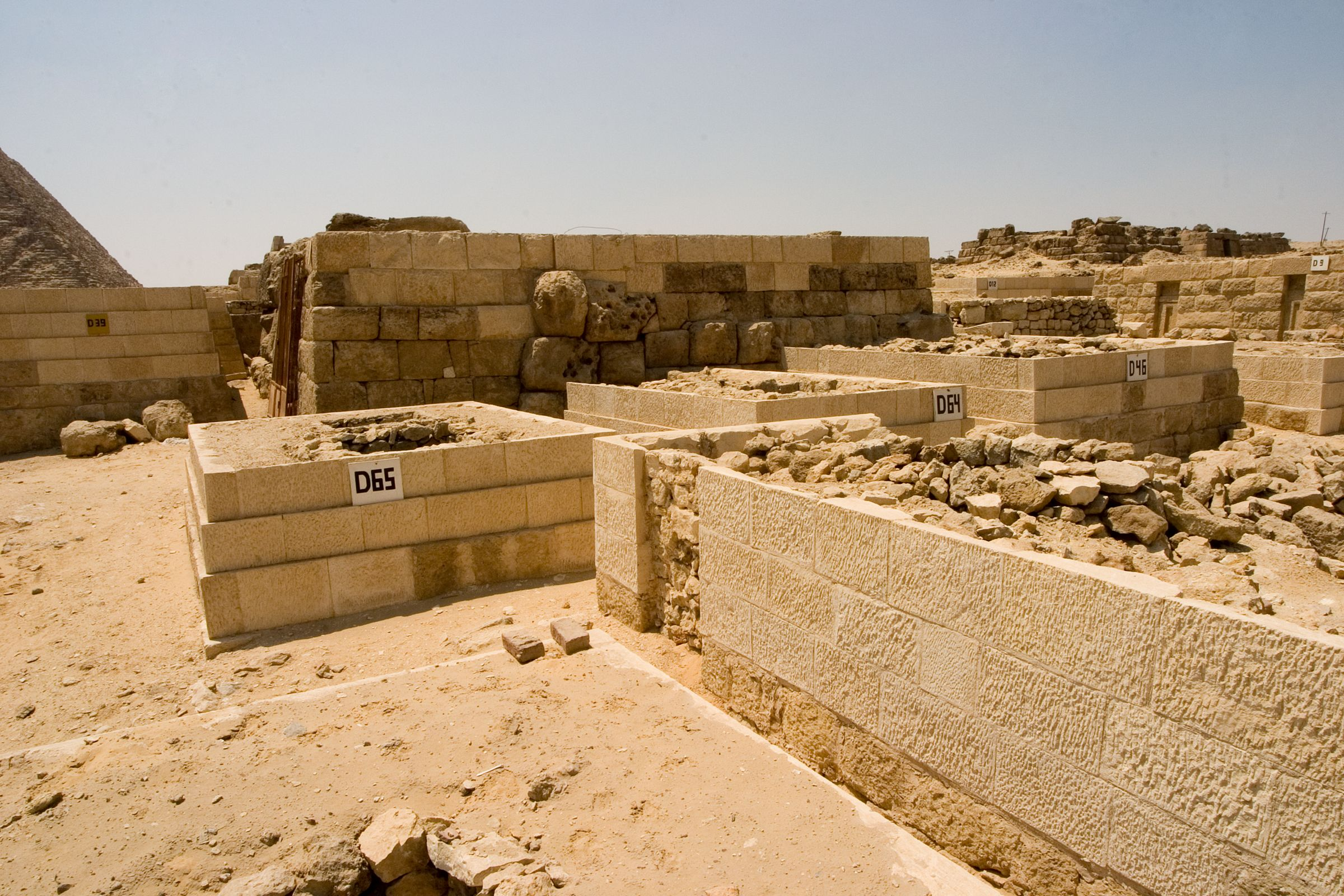 Western Cemetery: Site: Giza; View: D 65, D 64, D 46