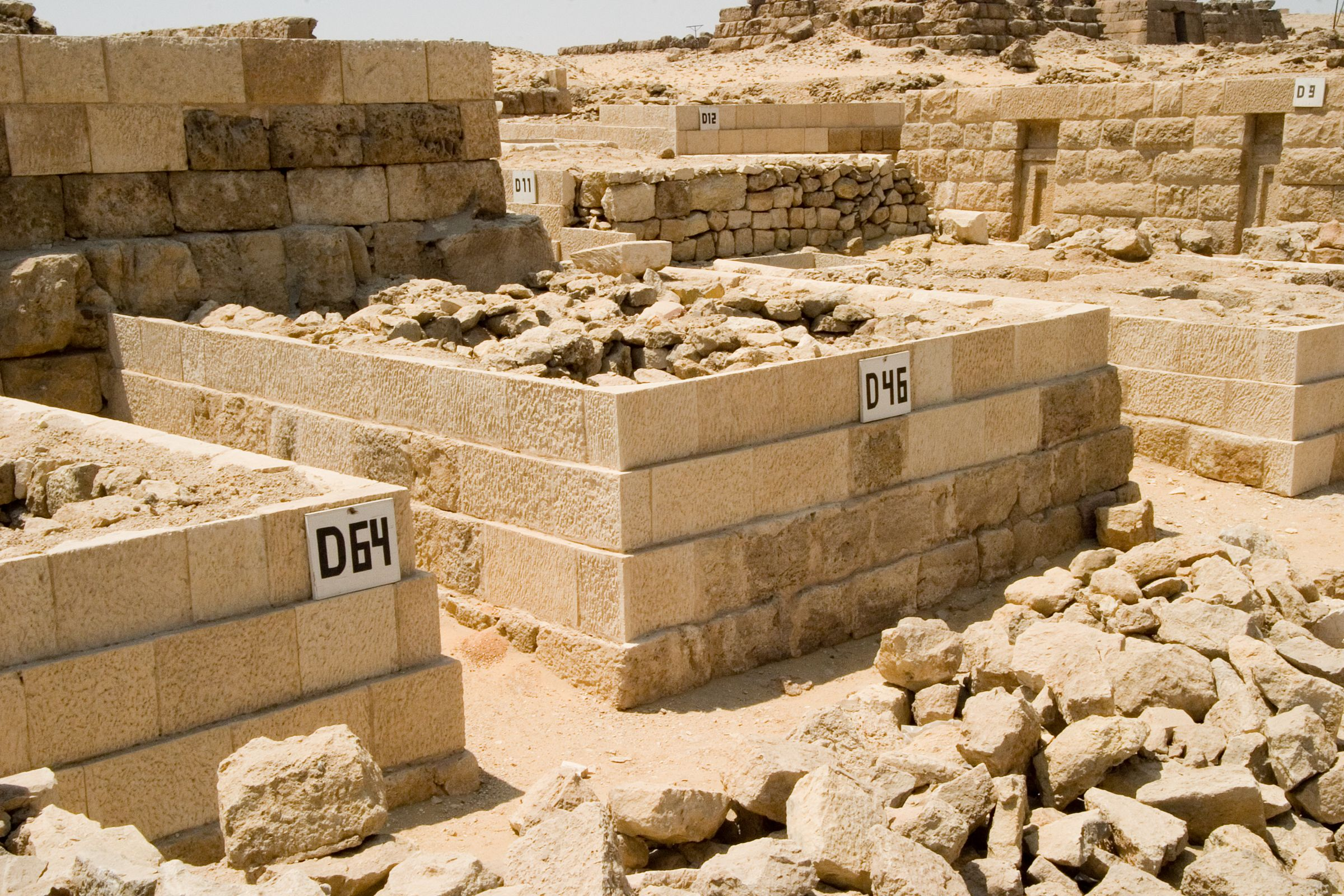 Western Cemetery: Site: Giza; View: D 46