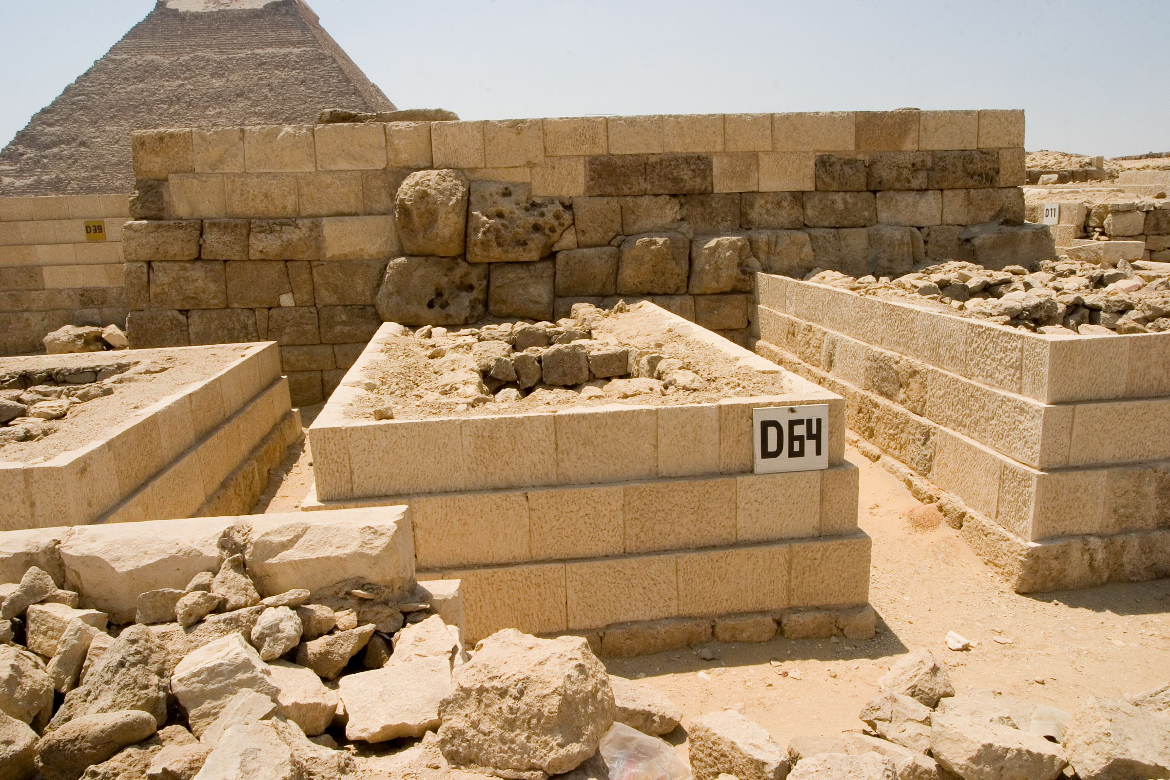 Western Cemetery: Site: Giza; View: D 64
