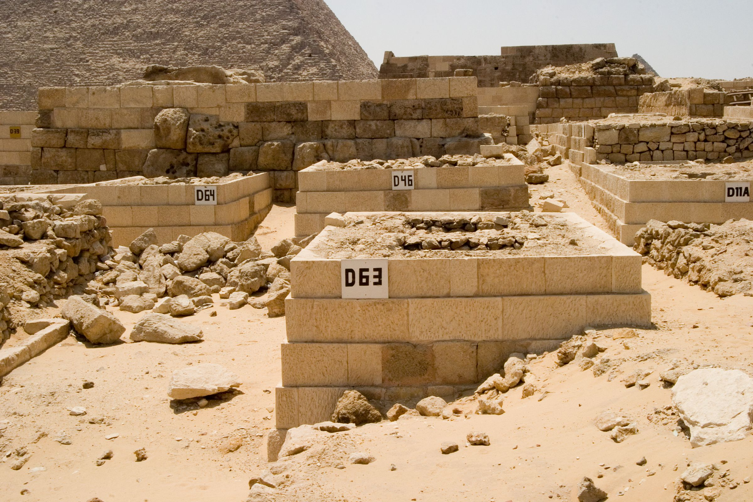 Western Cemetery: Site: Giza; View: D 63