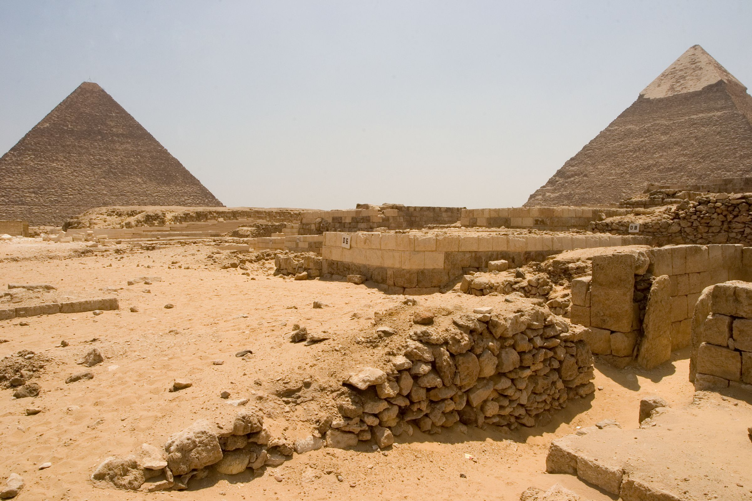 Western Cemetery: Site: Giza; View: D 5, D 2