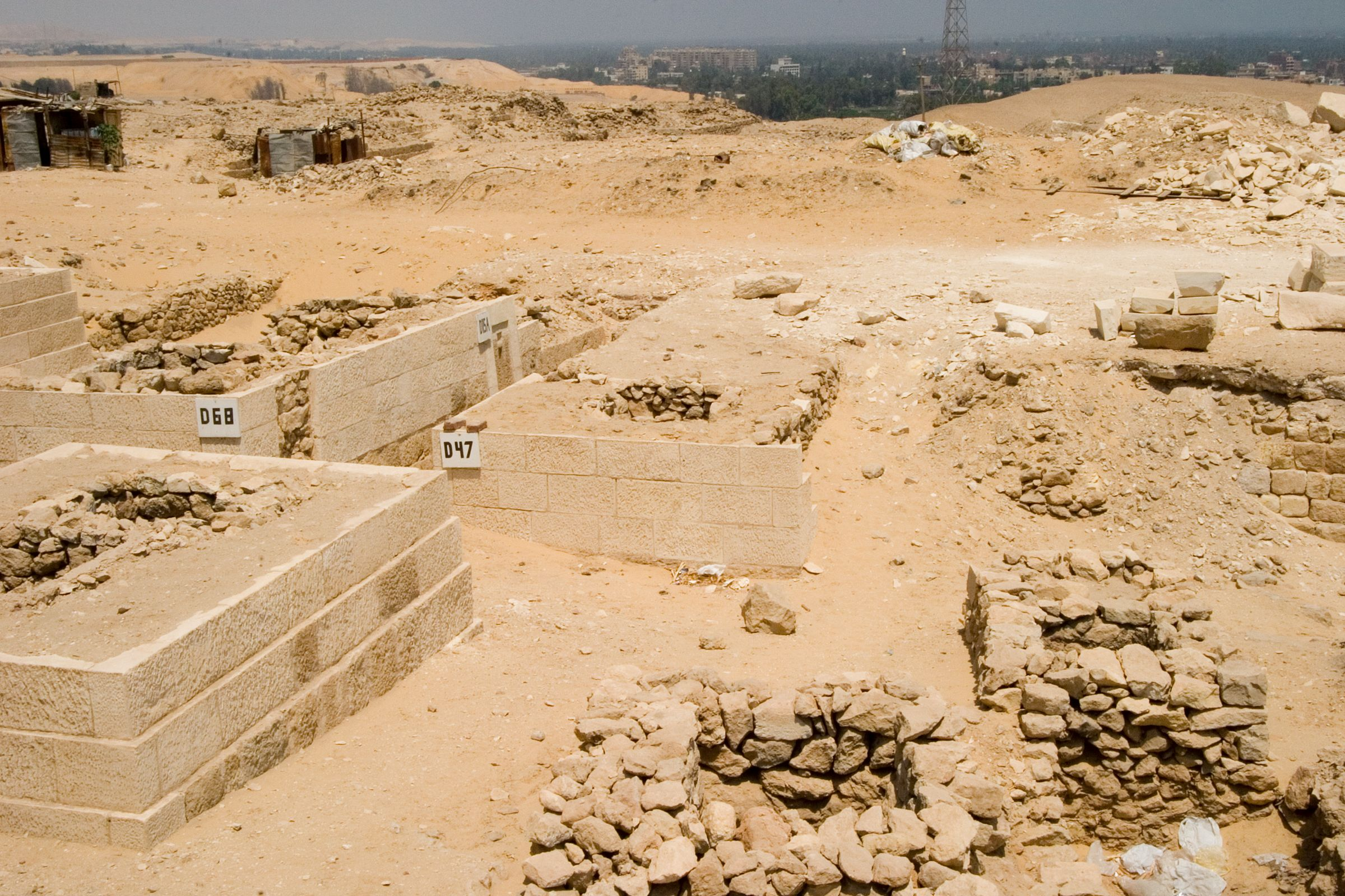 Western Cemetery: Site: Giza; View: D 68, D 47