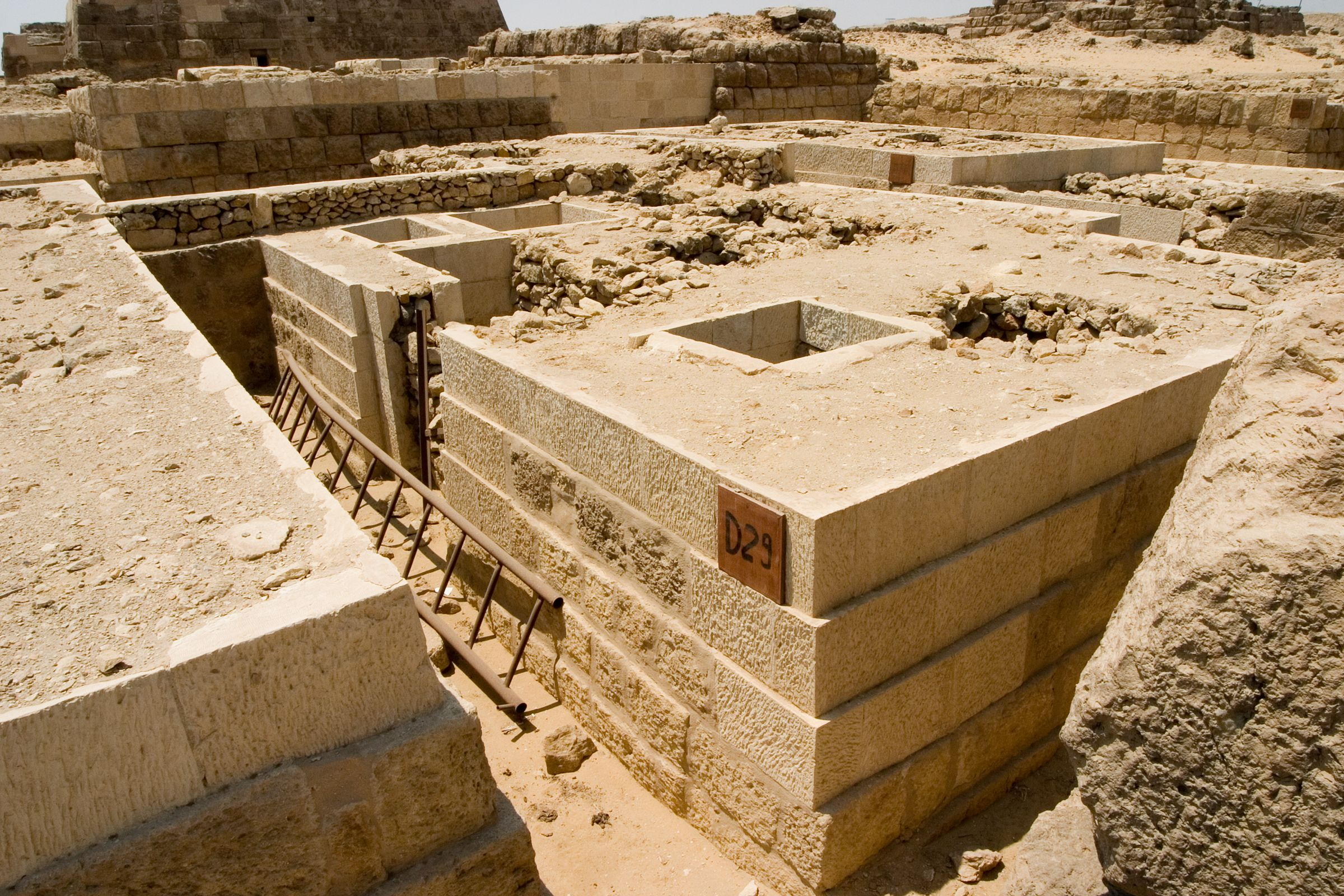 Western Cemetery: Site: Giza; View: D 29