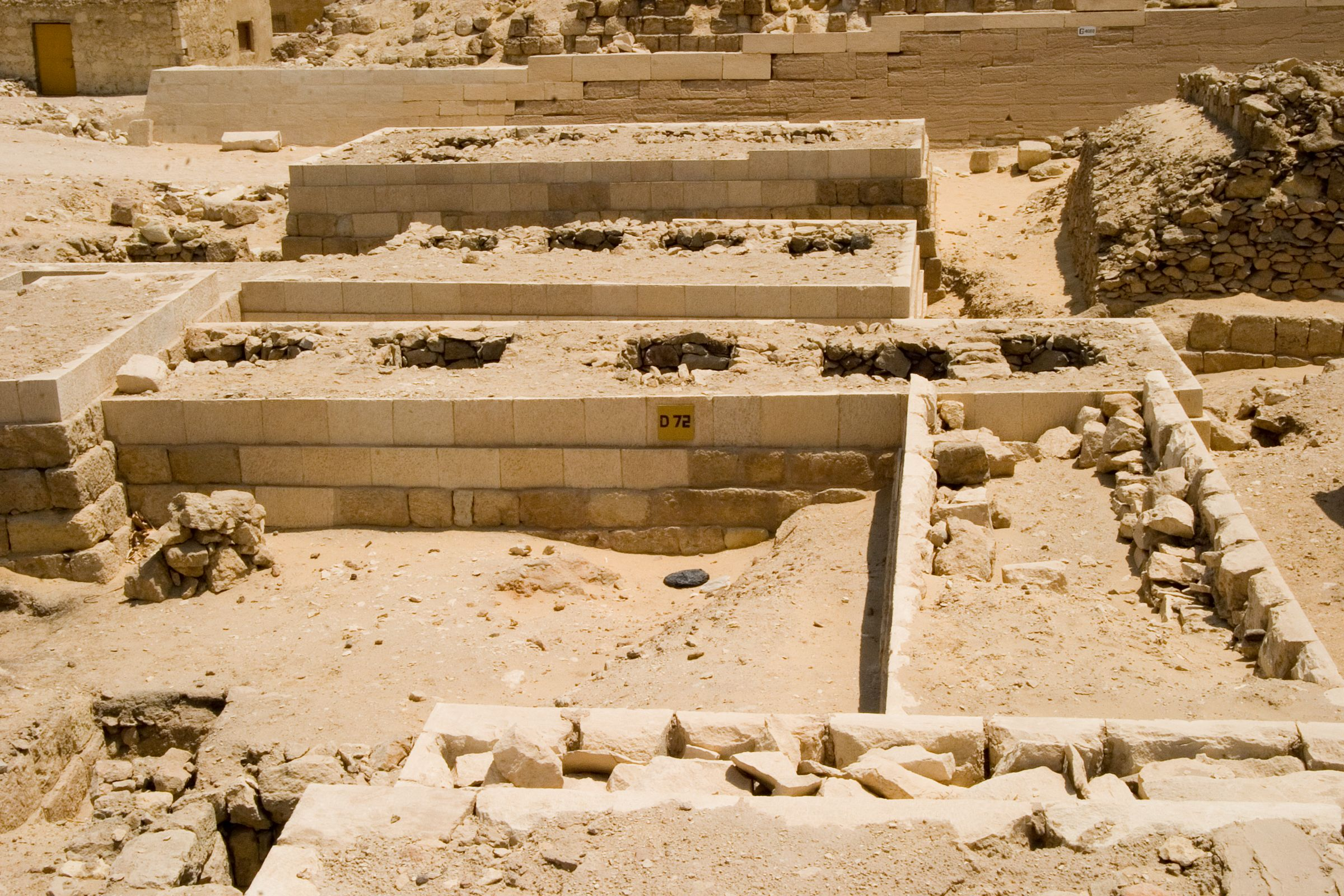 Western Cemetery: Site: Giza; View: D 72