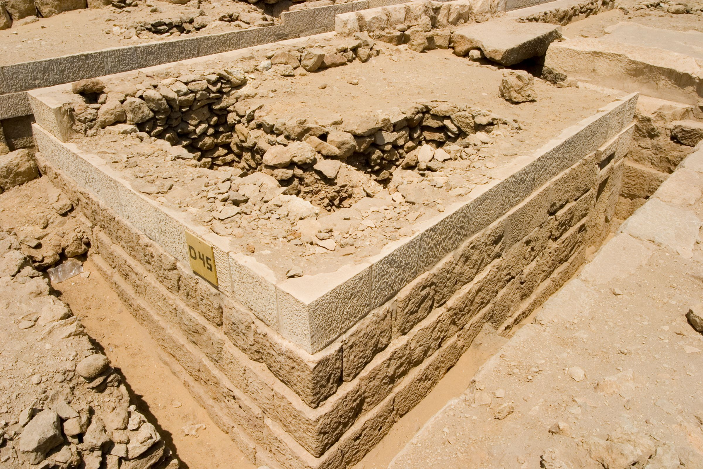 Western Cemetery: Site: Giza; View: D 45