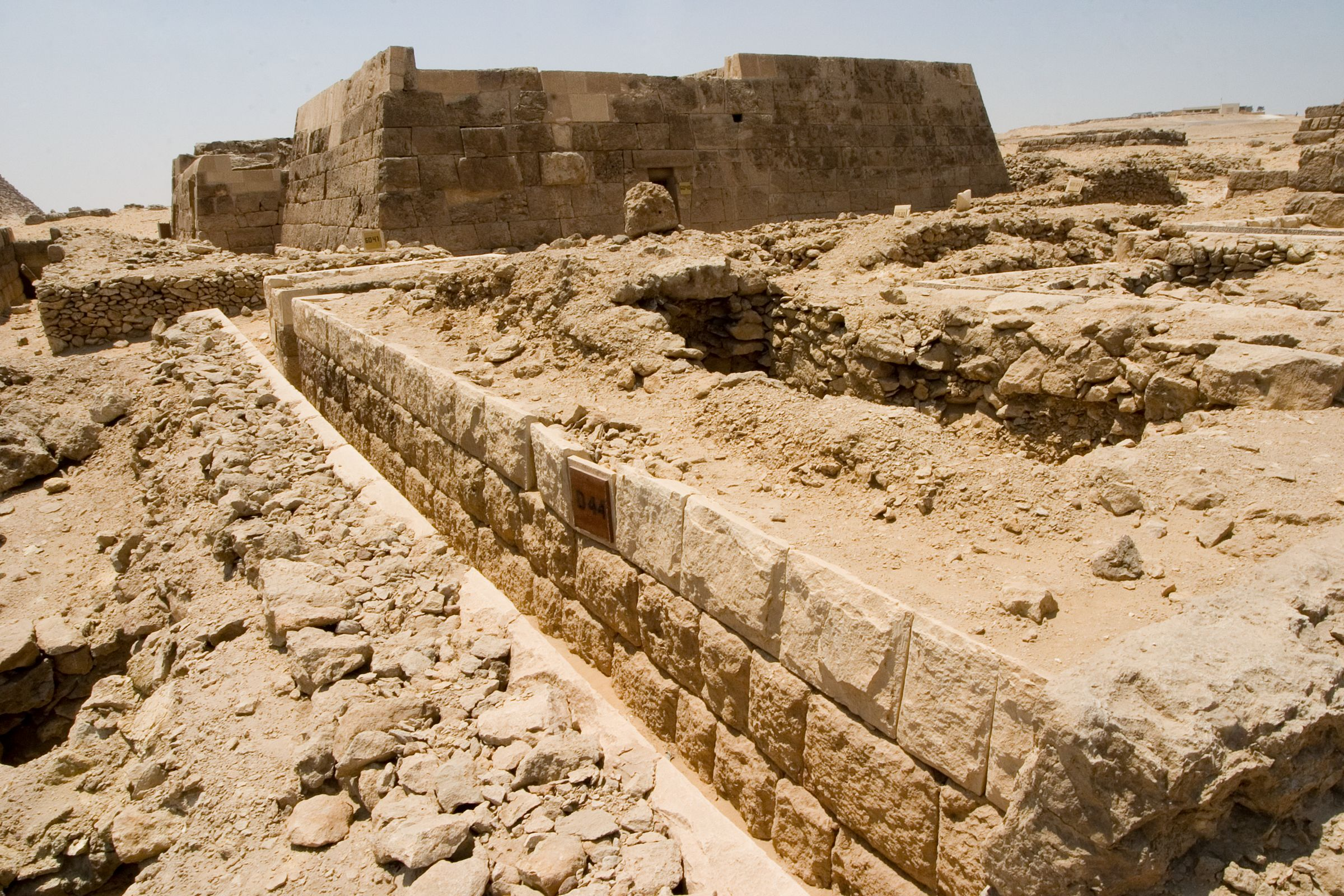 Western Cemetery: Site: Giza; View: D 44