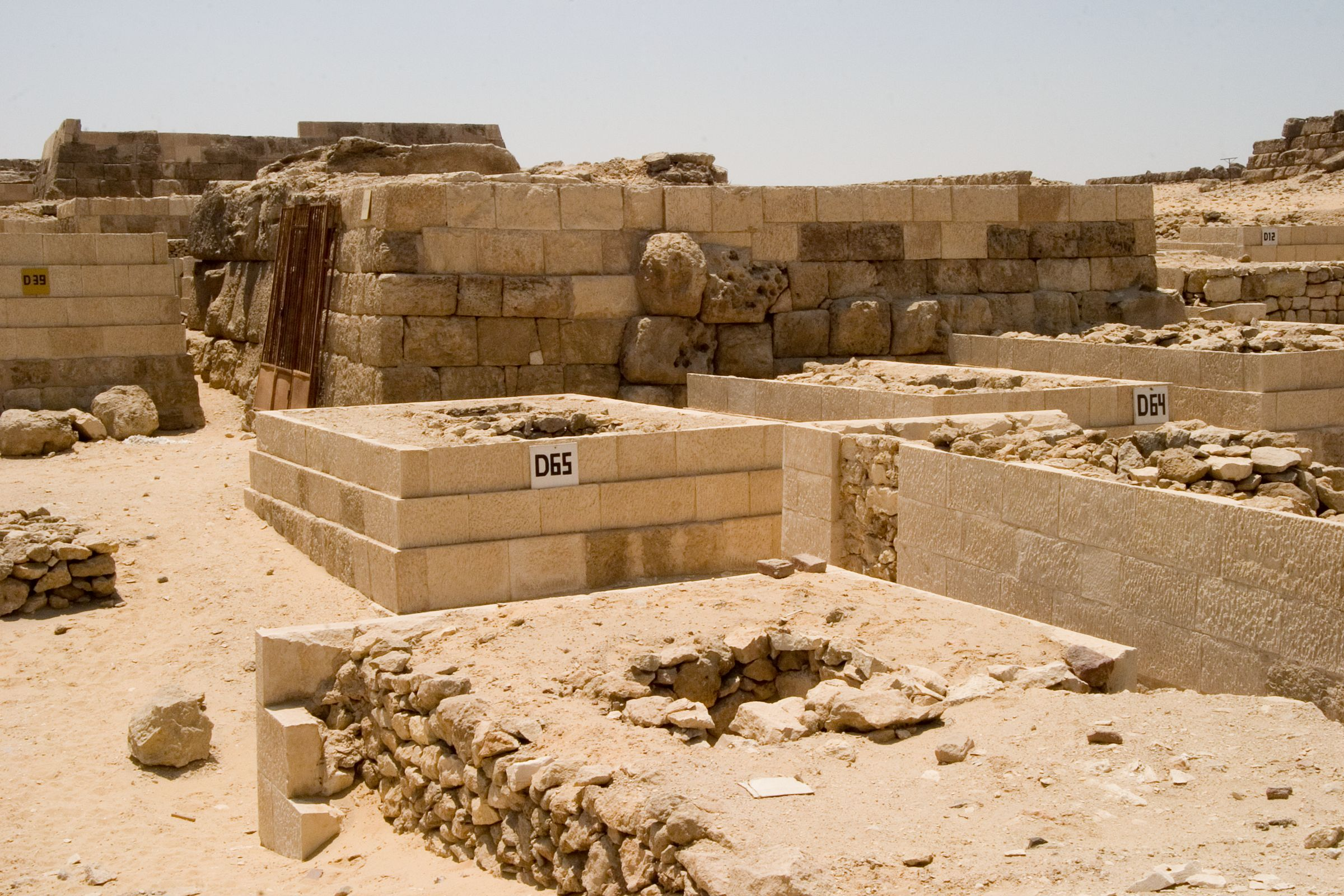 Western Cemetery: Site: Giza; View: D 65