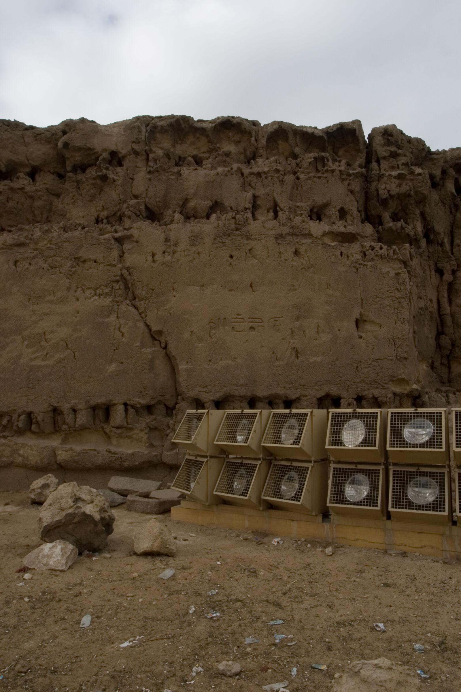Khafre Quarry Cemetery: Site: Giza; View: Khafre pyramid