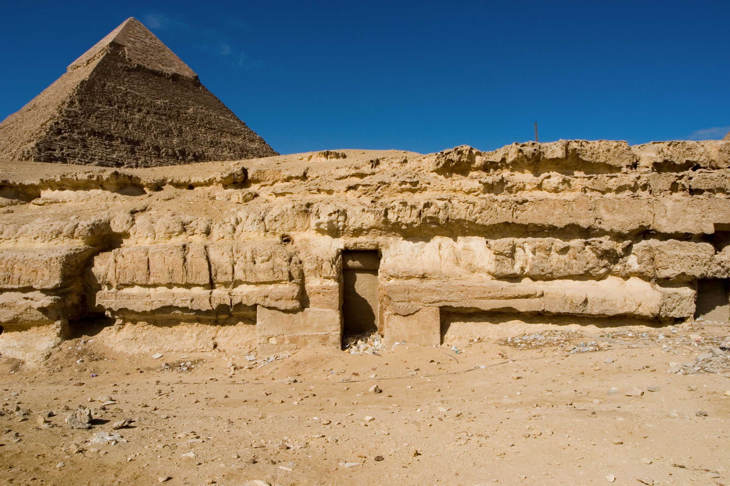 Central Field (Hassan): Site: Giza; View: G 8154