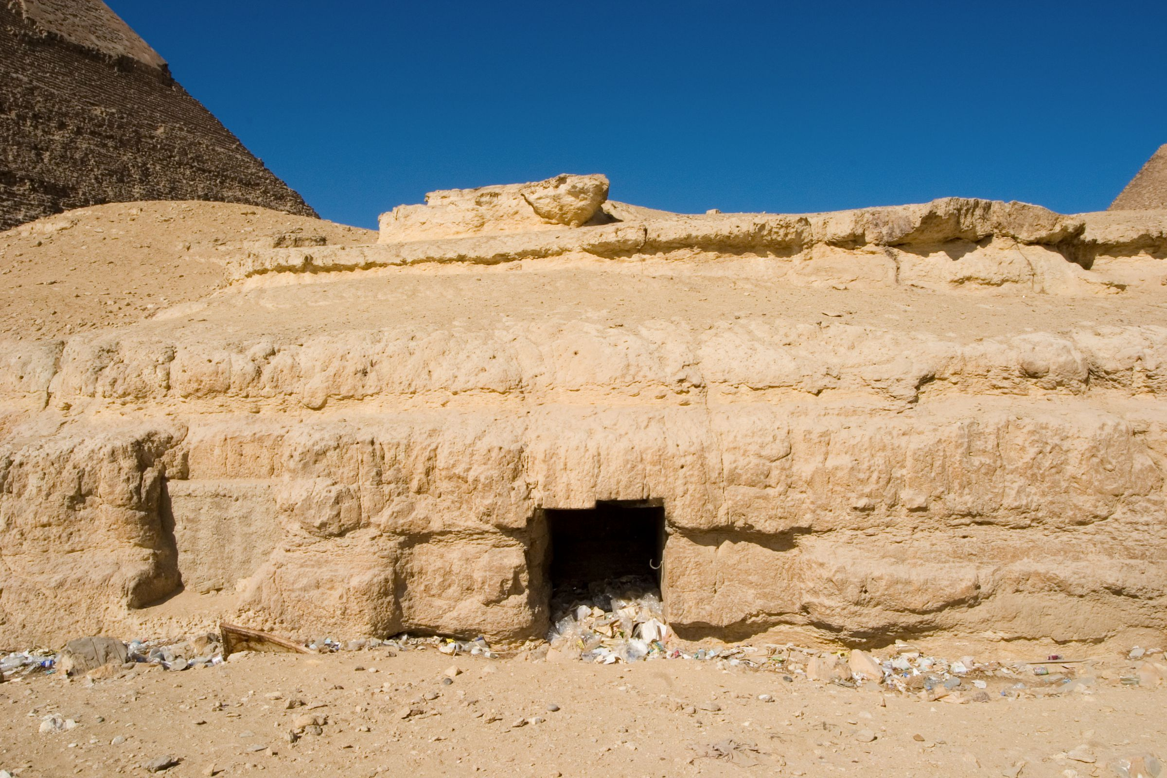 Central Field (Hassan): Site: Giza; View: G 8144