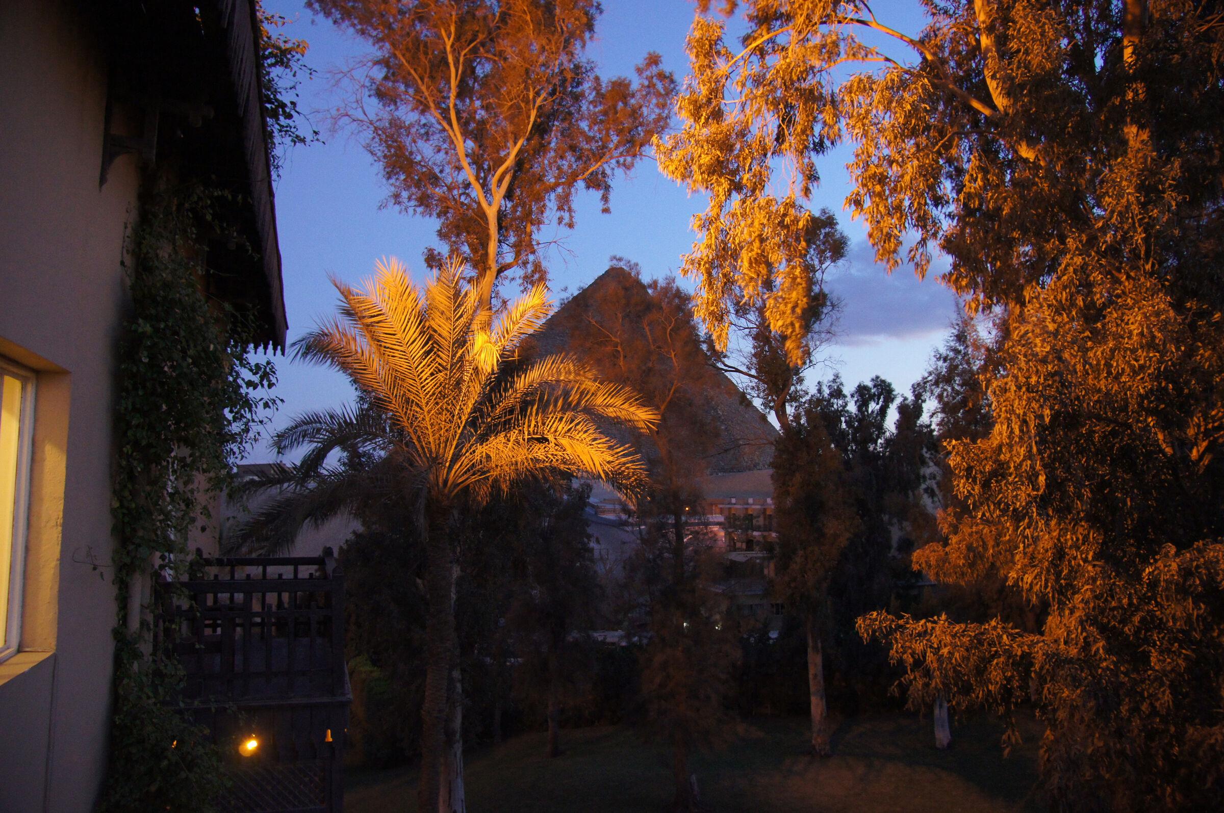 General View: Site: Giza; View: Khufu Pyramid
