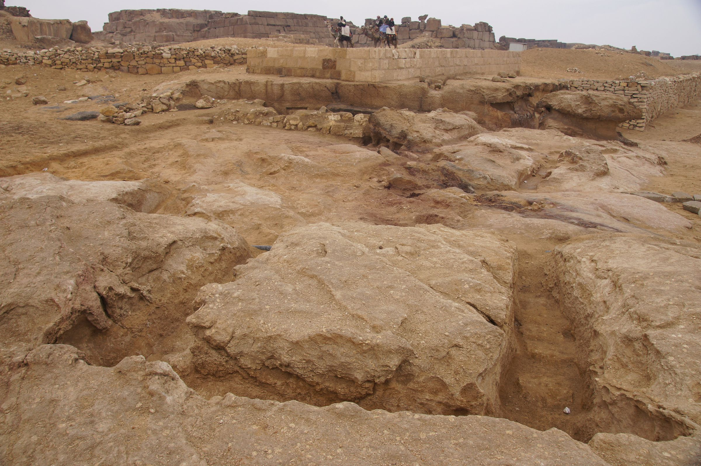 Western Cemetery: Site: Giza; View: Western Cemetery, G 5411, G 5210