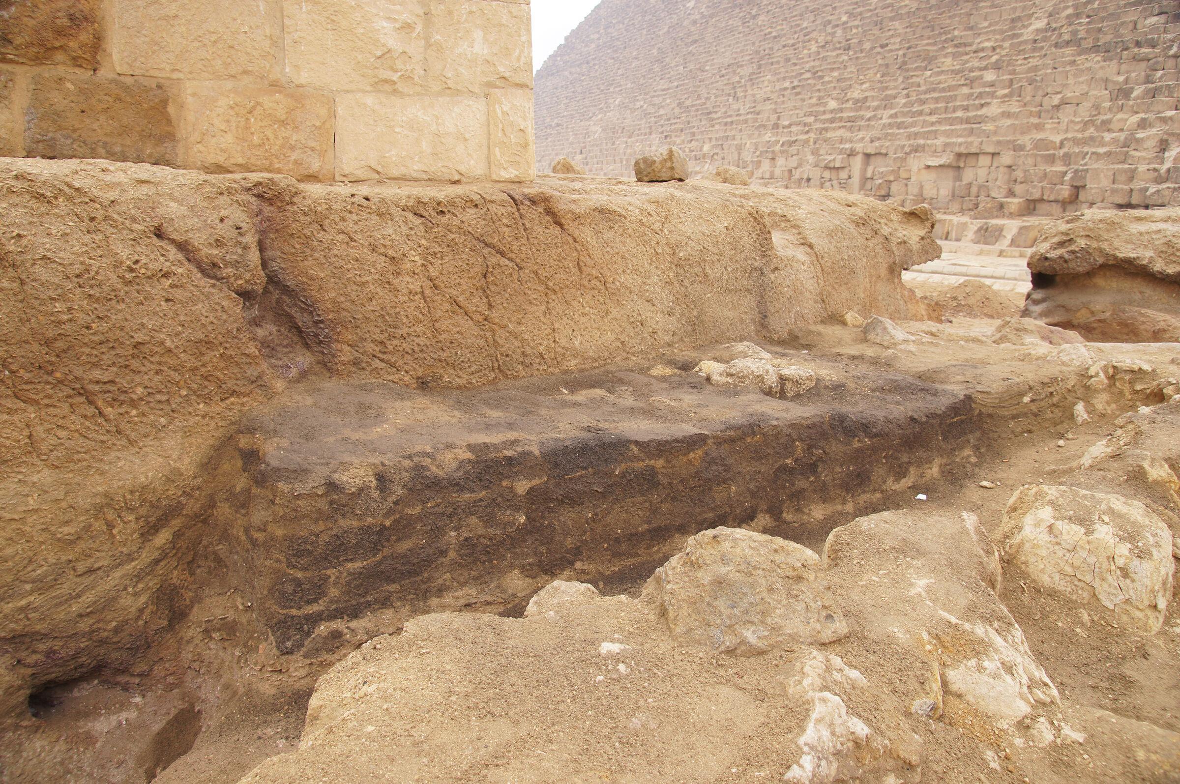 Khufu Pyramid Complex, Western Cemetery: Site: Giza; View: G 5411, Khufu Pyramid