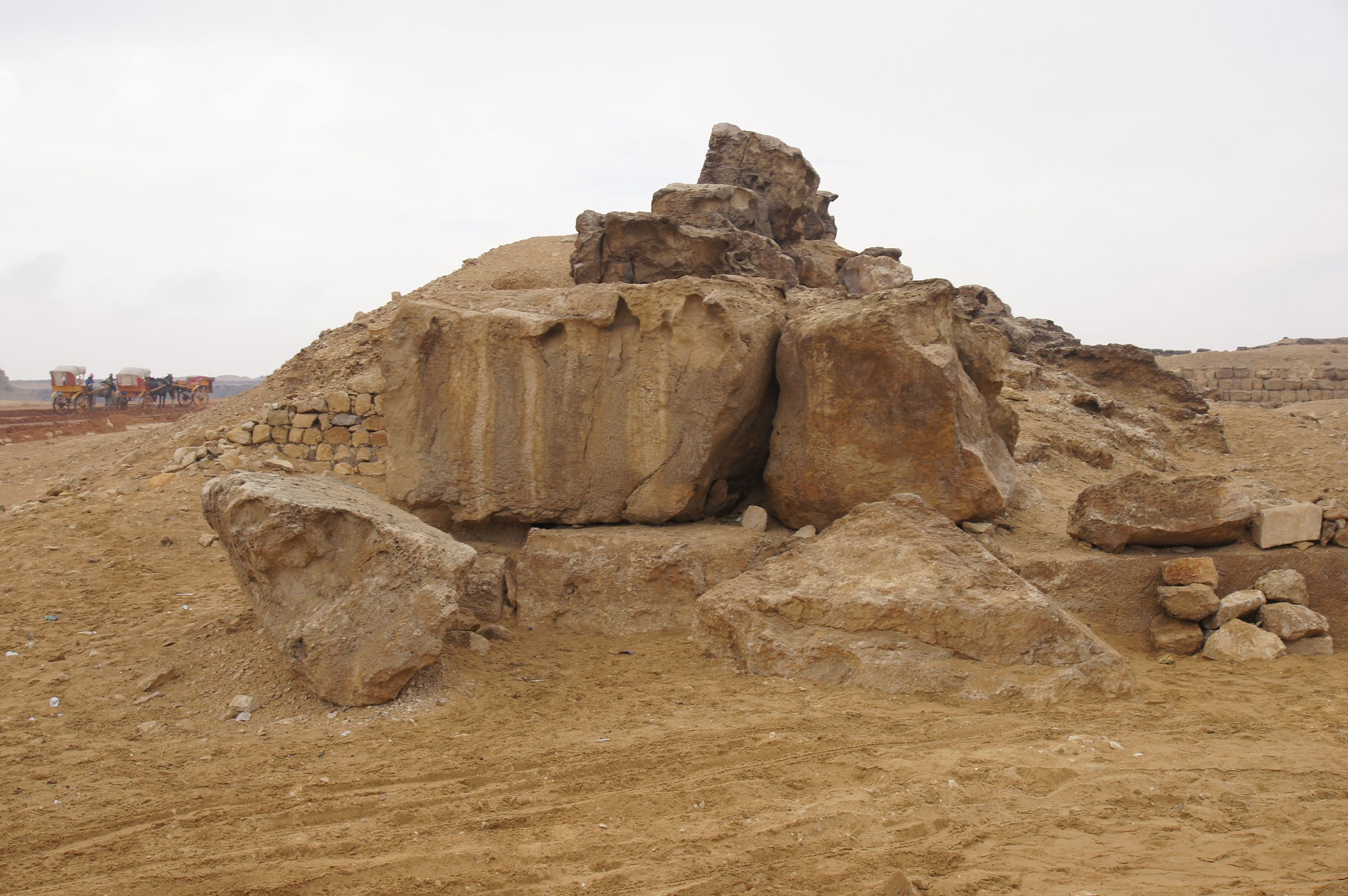 Western Cemetery: Site: Giza; View: Western Cemetery