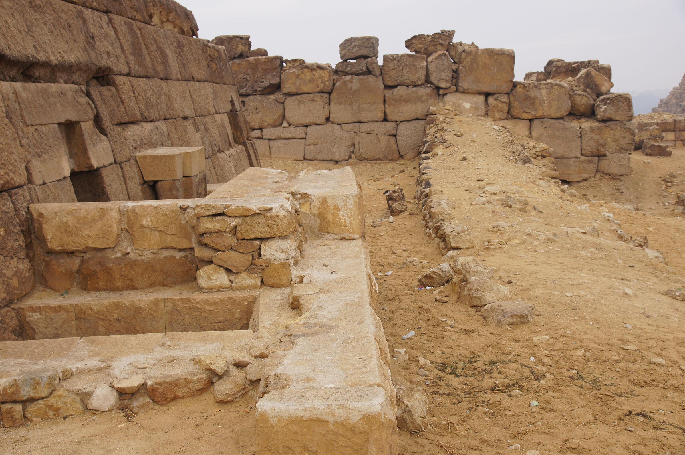 Khufu Pyramid Complex: Site: Giza; View: G 5210, G 5220