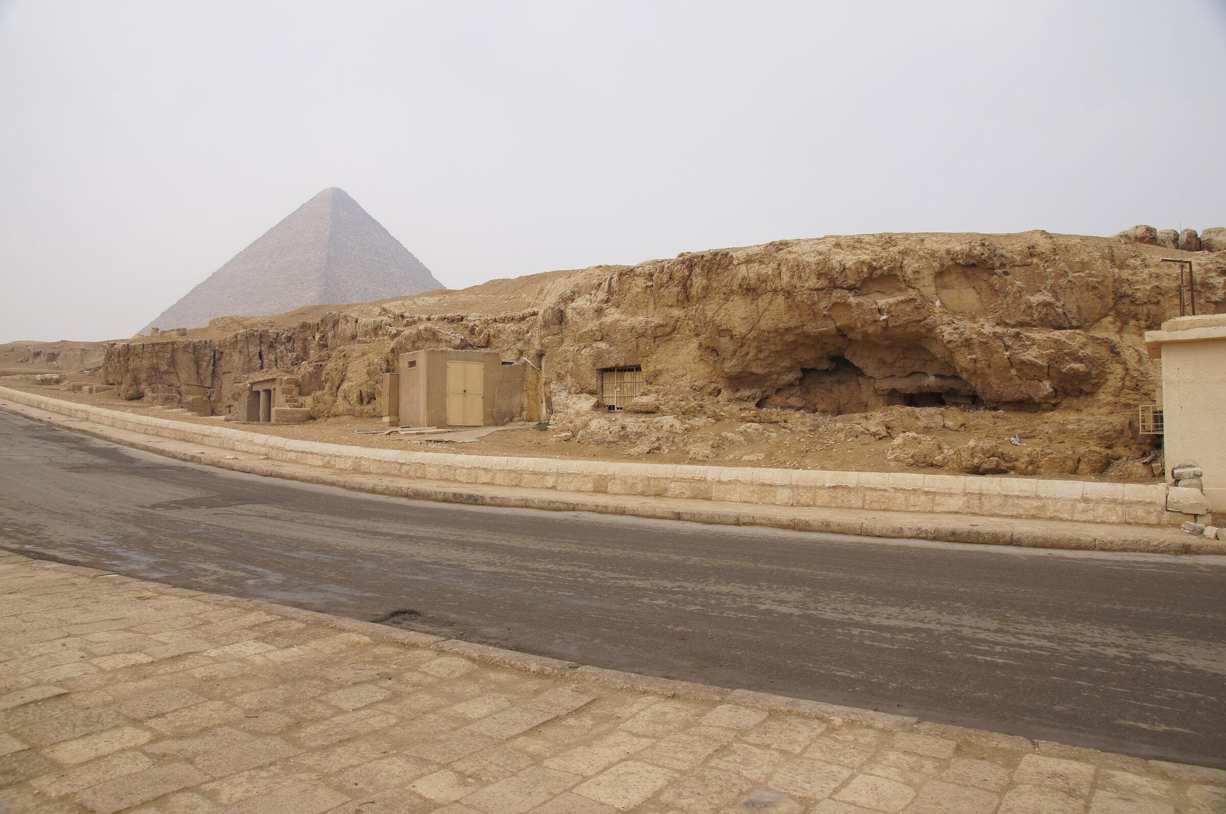 Sphinx Complex: Site: Giza; View: G 9090, G 9080, G 9060, G 9050