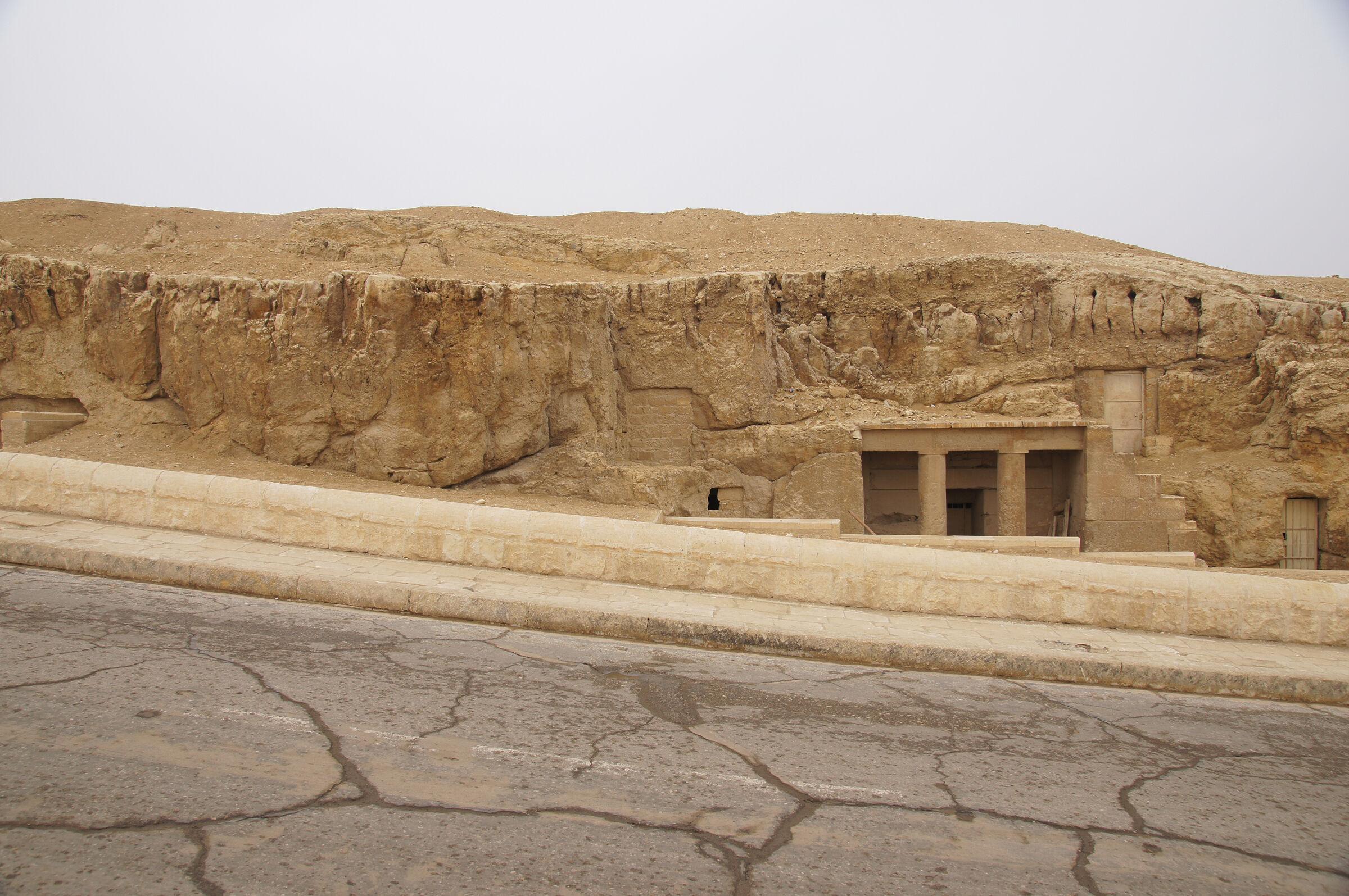 Sphinx Complex: Site: Giza; View: G 9120, G 9090, G 9080
