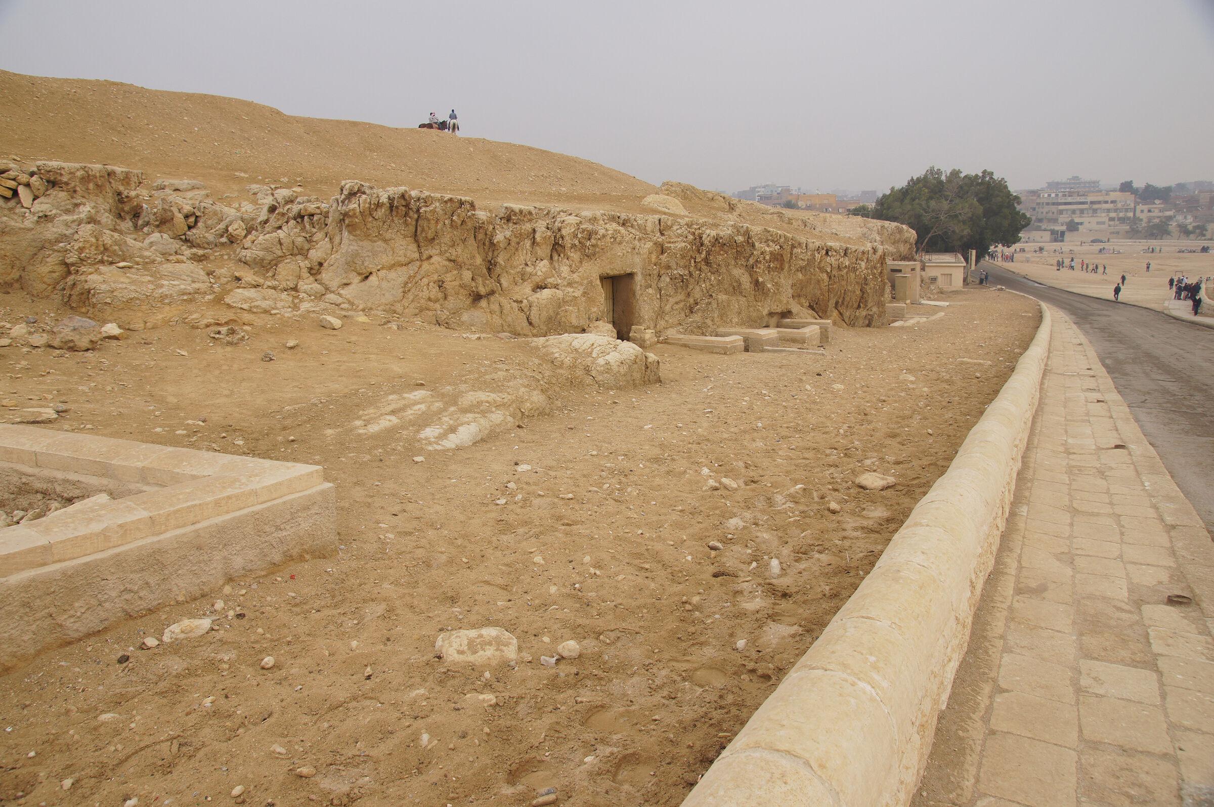 Sphinx Complex: Site: Giza; View: G 9200, G 9130, G 9120, G 9090
