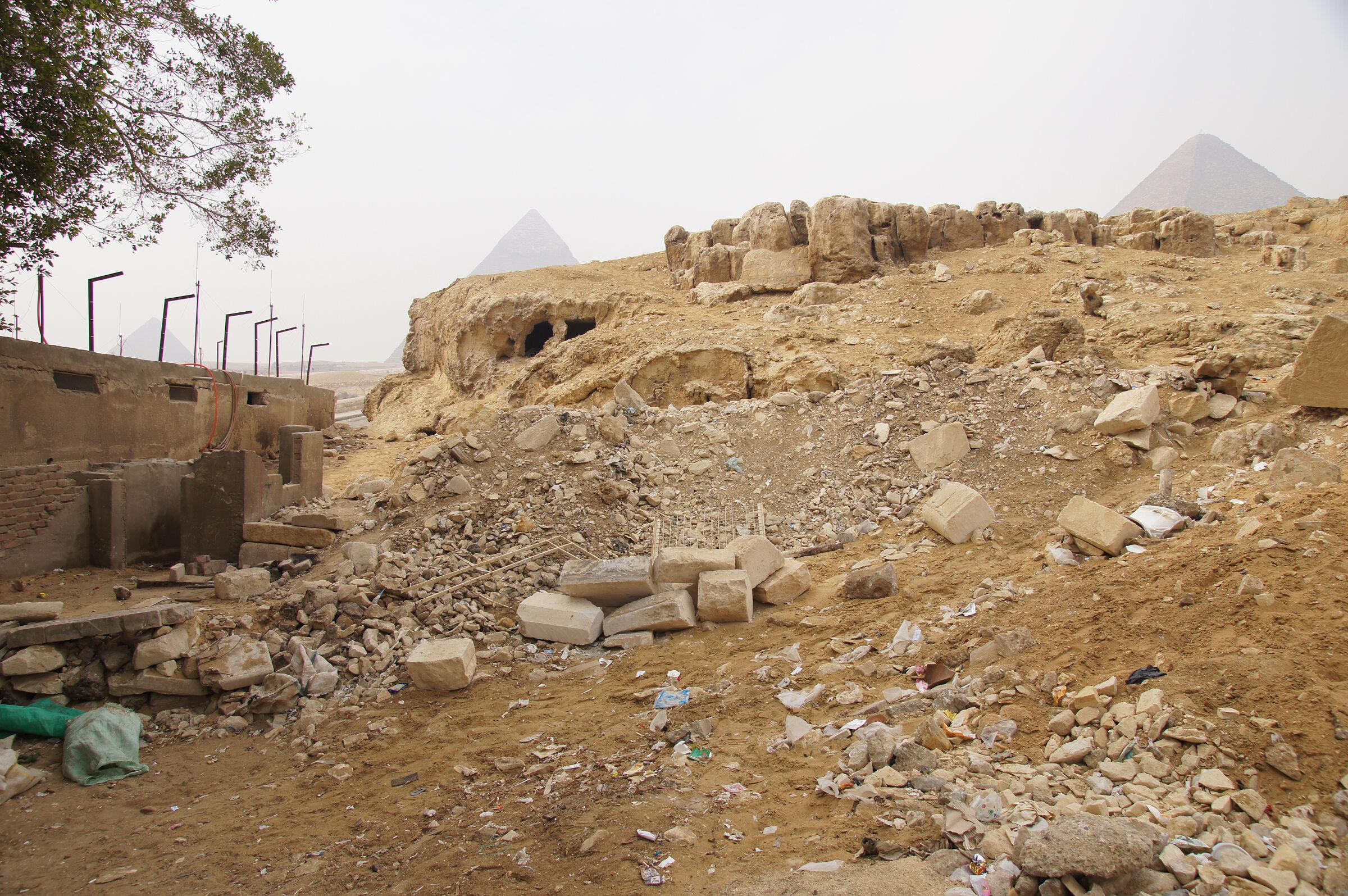 Sphinx Complex: Site: Giza; View: Sphinx Complex