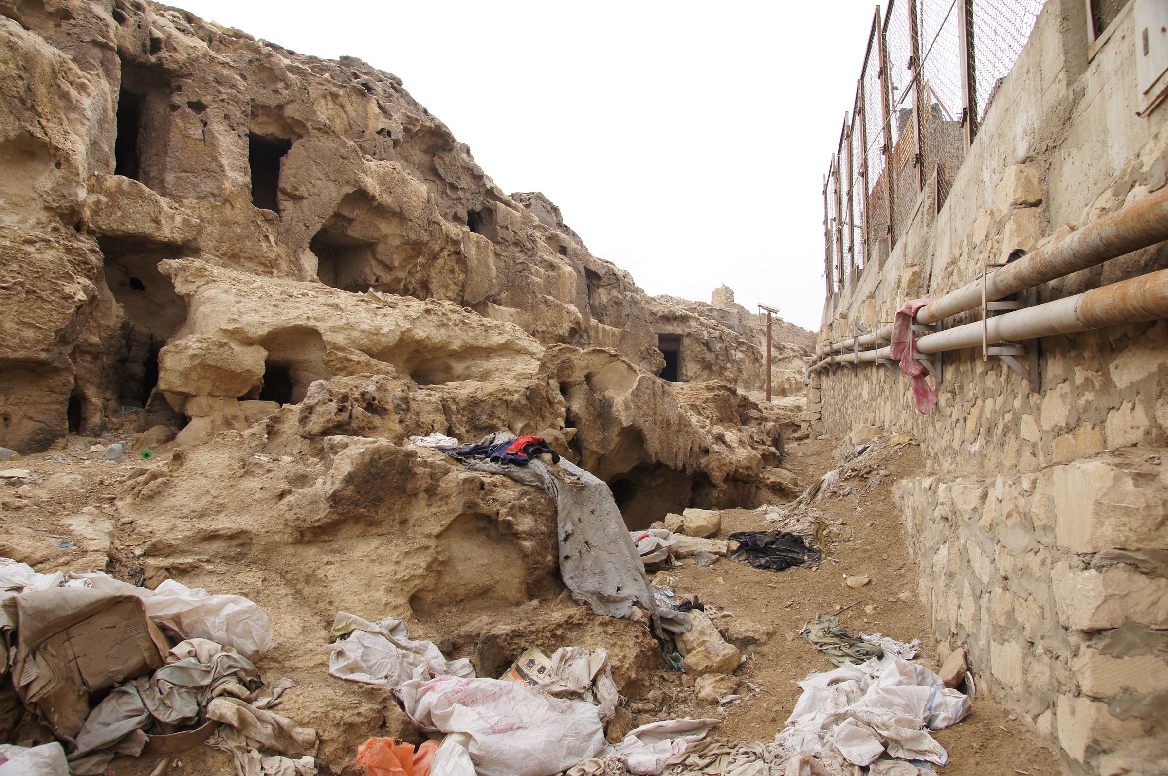 Eastern Cemetery: Site: Giza; View: Service Tombs, Lepsius 68