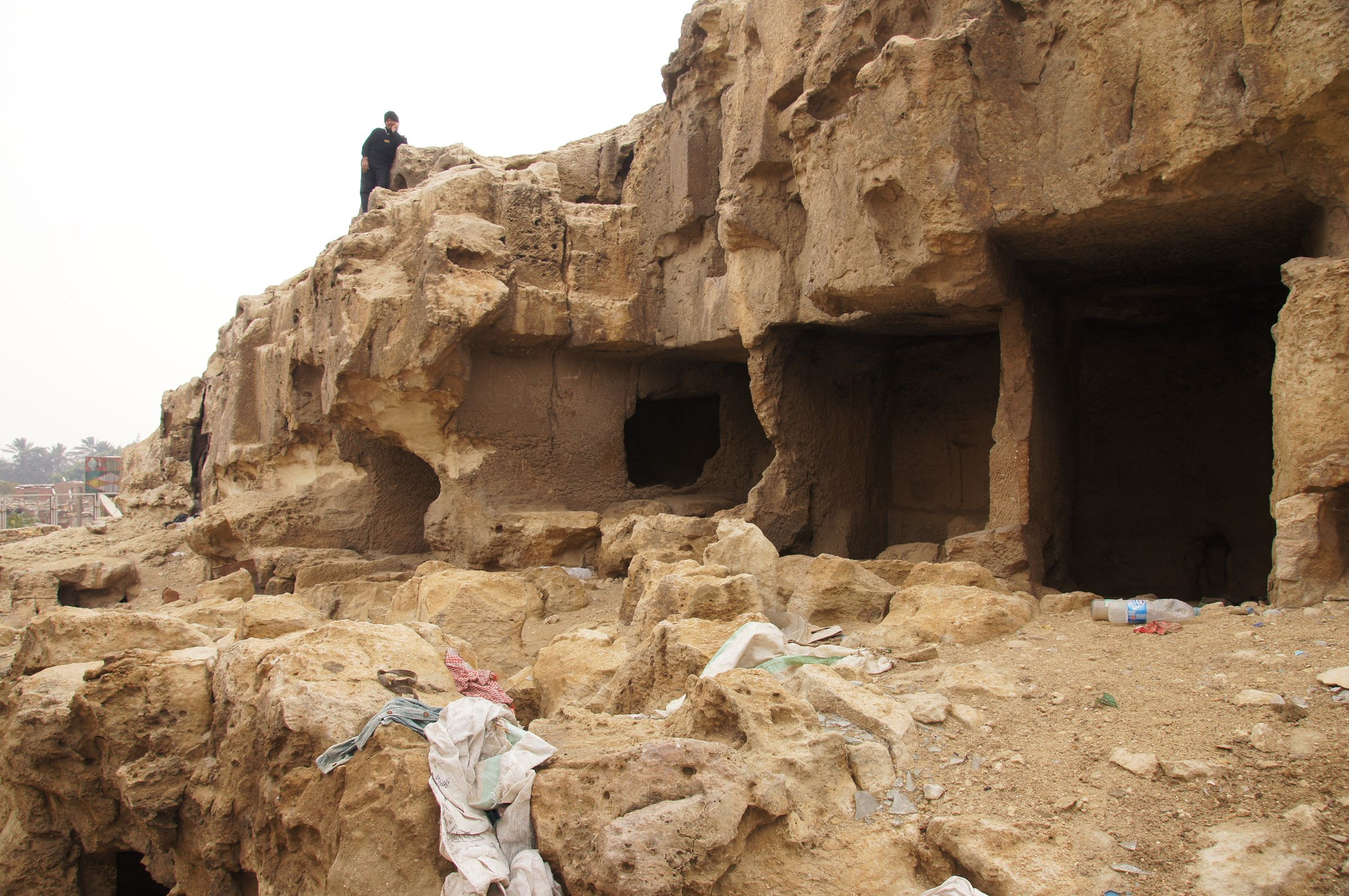 Eastern Cemetery: Site: Giza; View: Service Tombs, Lepsius 69, Lepsius 70
