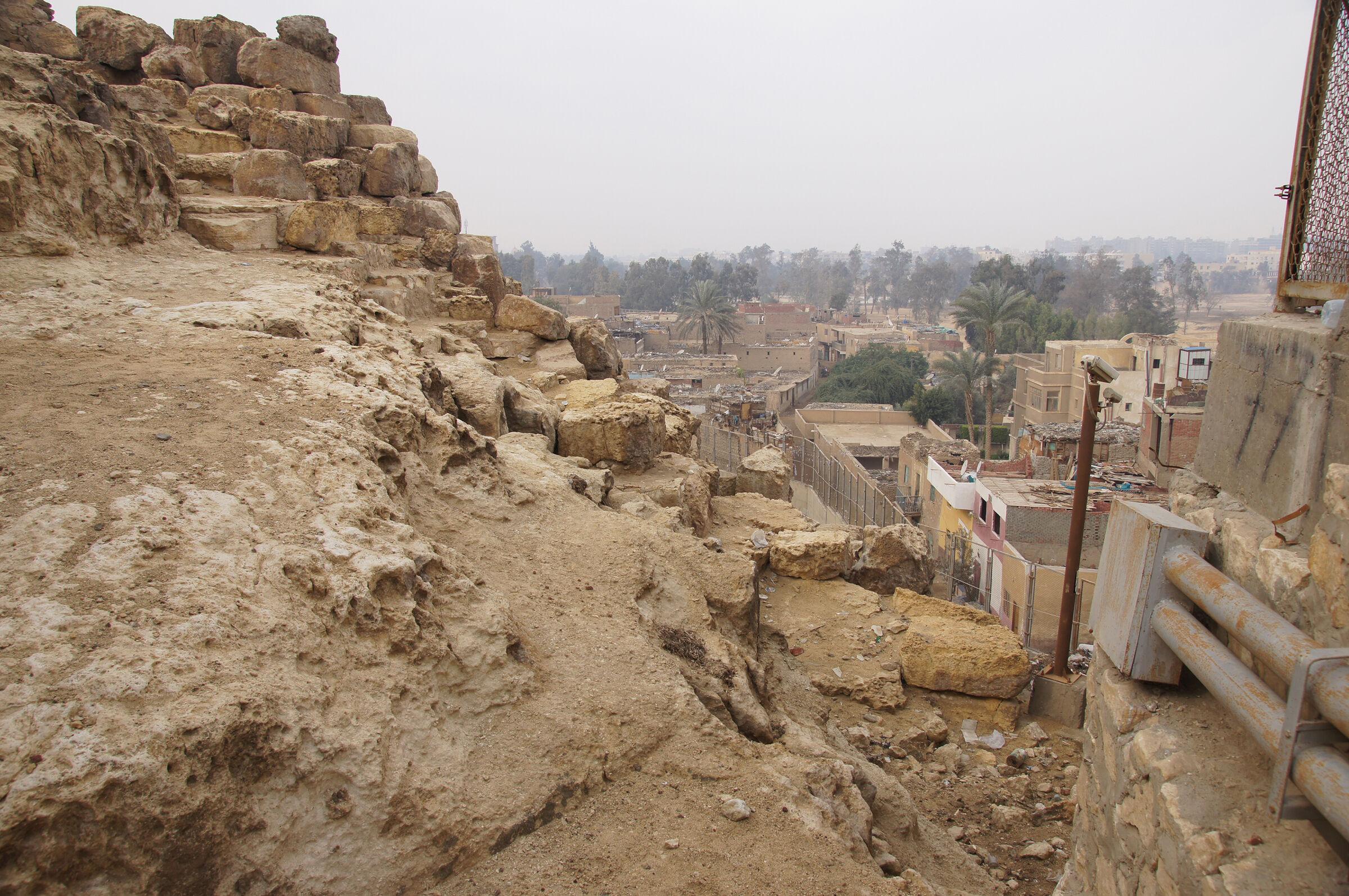 Eastern Cemetery: Site: Giza; View: Lepsius 65, Lepsius 66, Lepsius 67