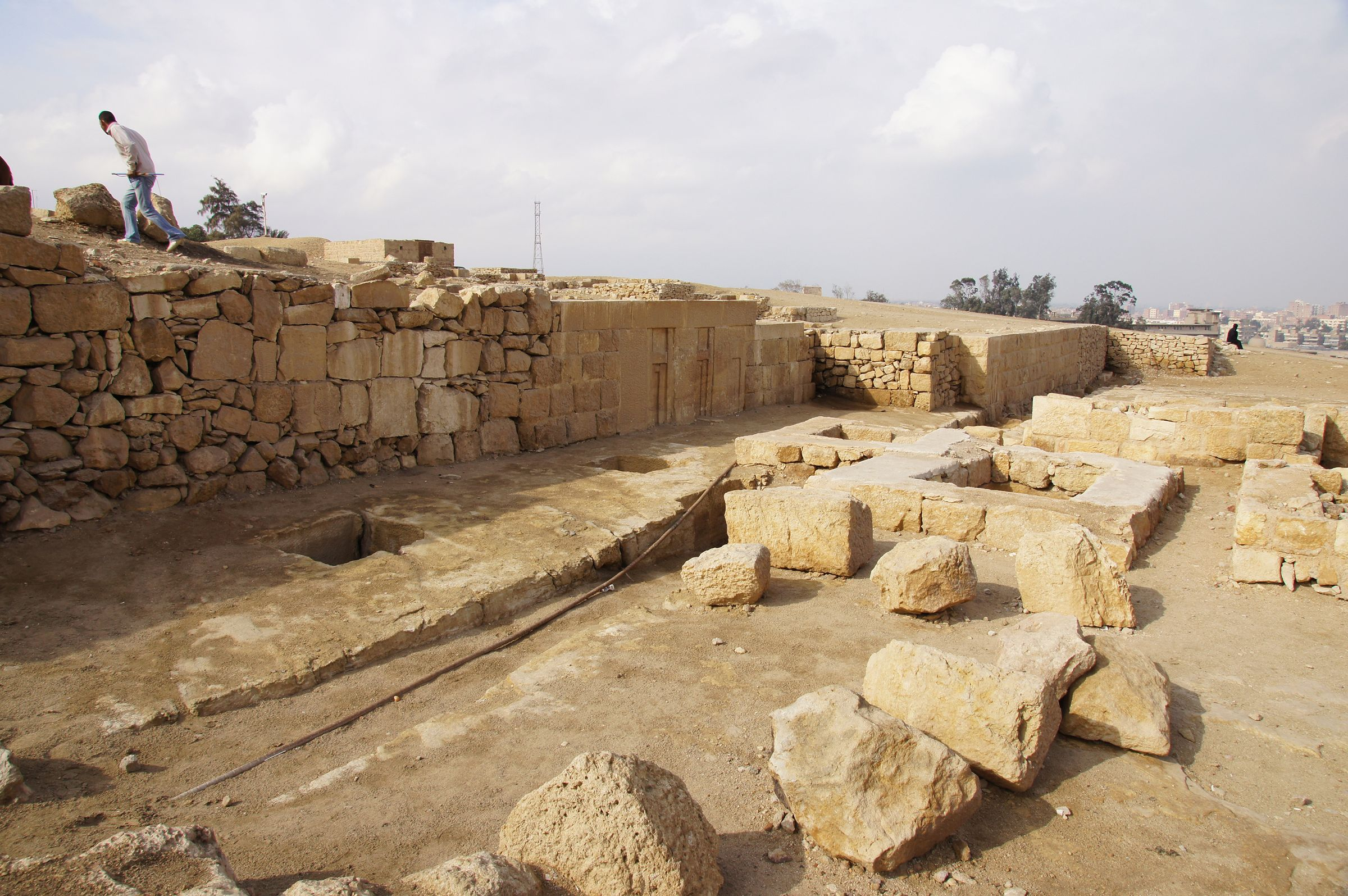 Western Cemetery: Site: Giza; View: G 2391, G 2389, G 2452, G 2450