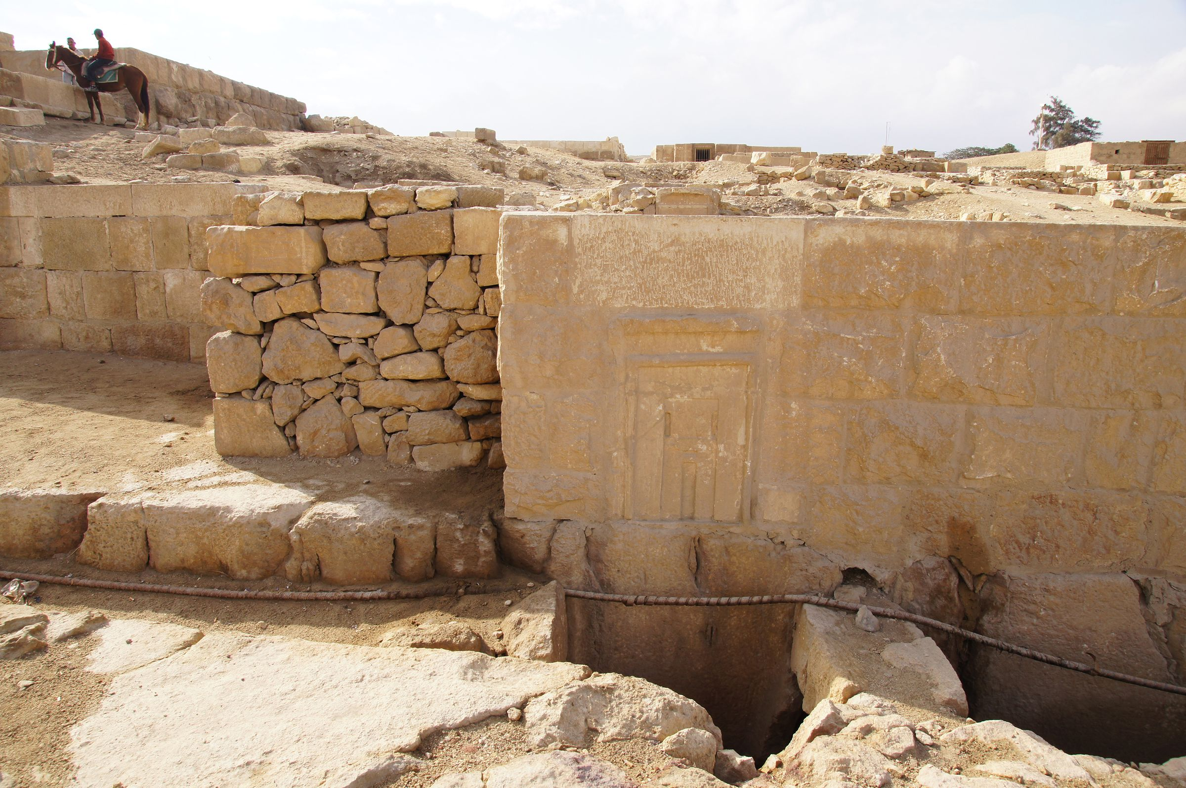 Western Cemetery: Site: Giza; View: G 2391