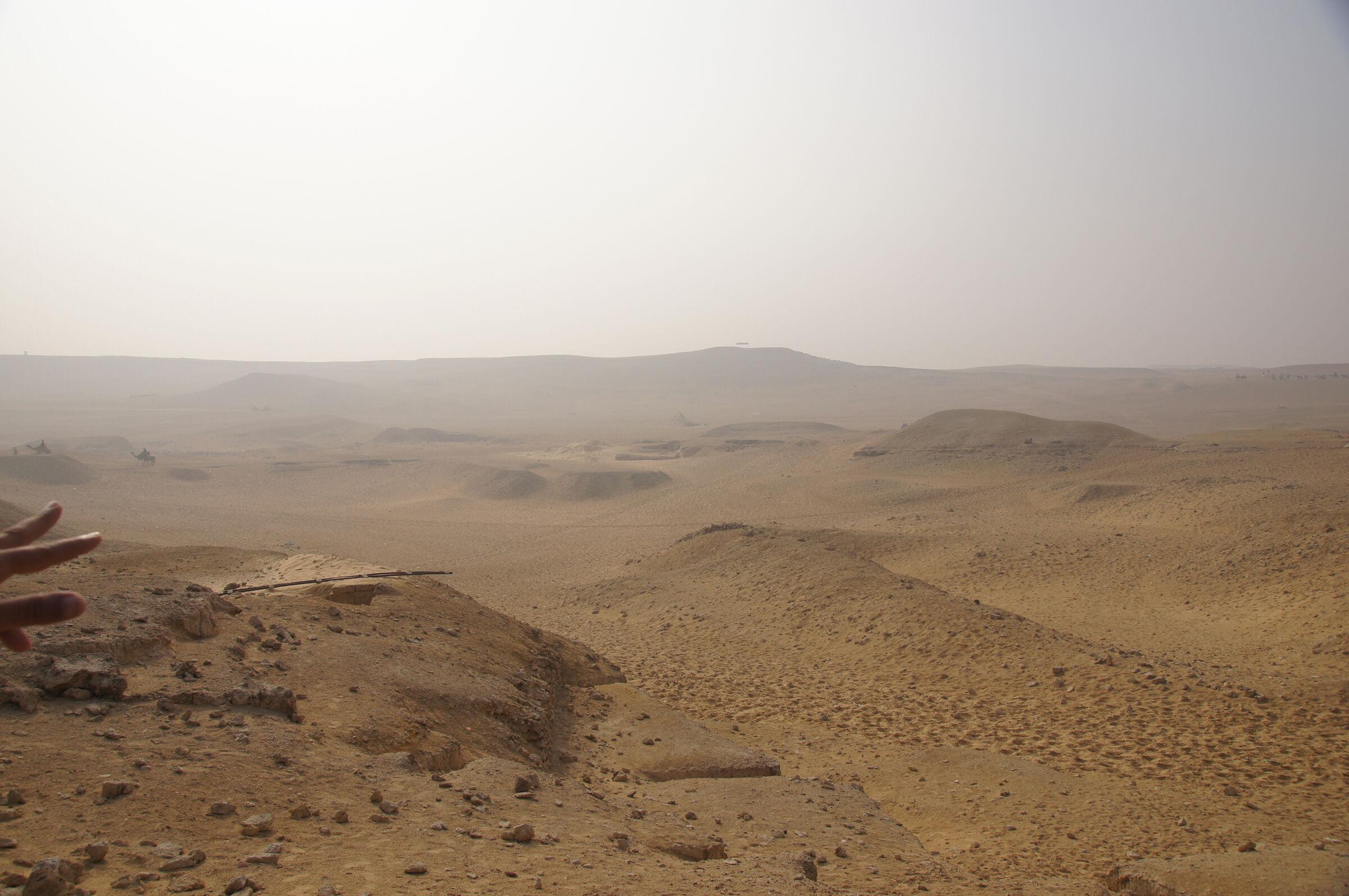 Menkaure Quarry Cemetery: Site: Giza; View: Menkaure Quarry Cemetery