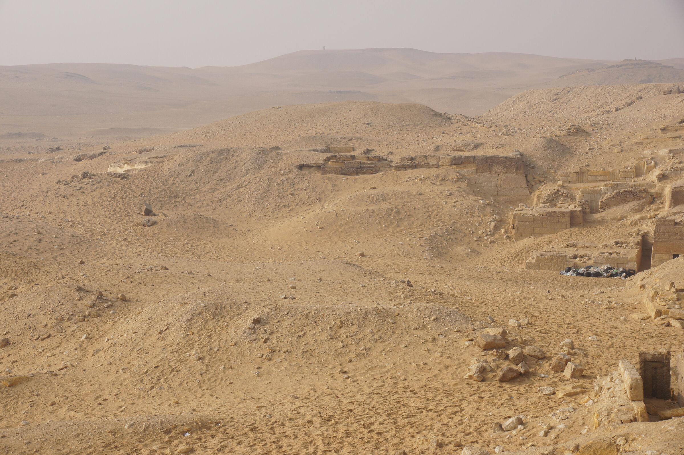 Menkaure Quarry Cemetery: Site: Giza; View: MQ 1, MQ 136, MQ 106, MQ 123, MQ 135, MQ 134, MQ 120, MQ 131, MQ 102, MQ 500