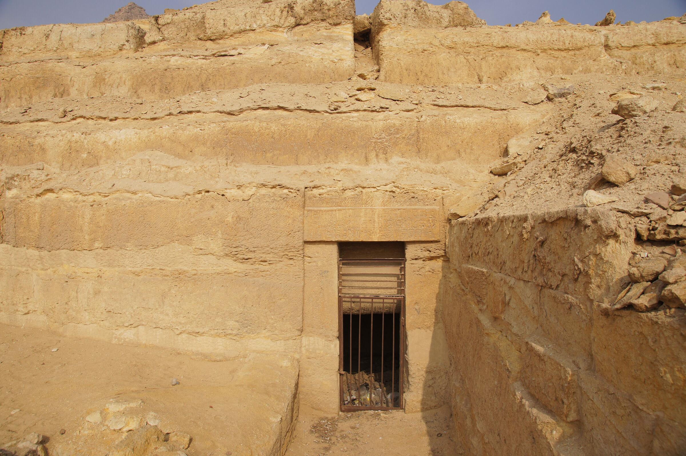 Menkaure Quarry Cemetery: Site: Giza; View: MQ 130, MQ 132, MQ 101