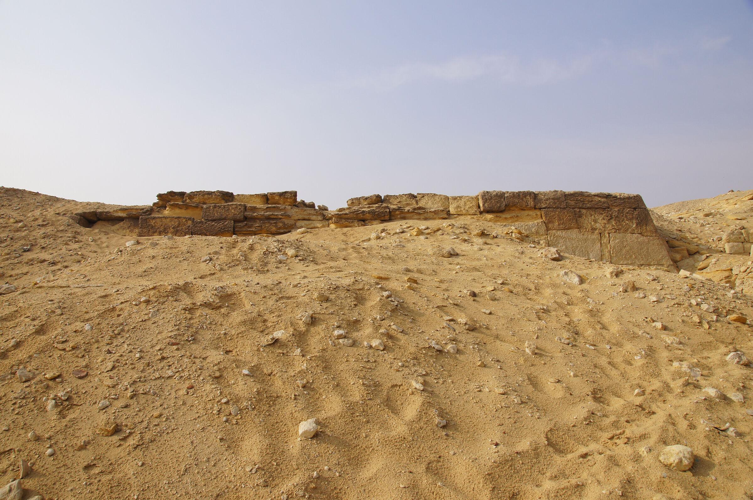 Menkaure Pyramid Complex: Site: Giza; View: MQ 1