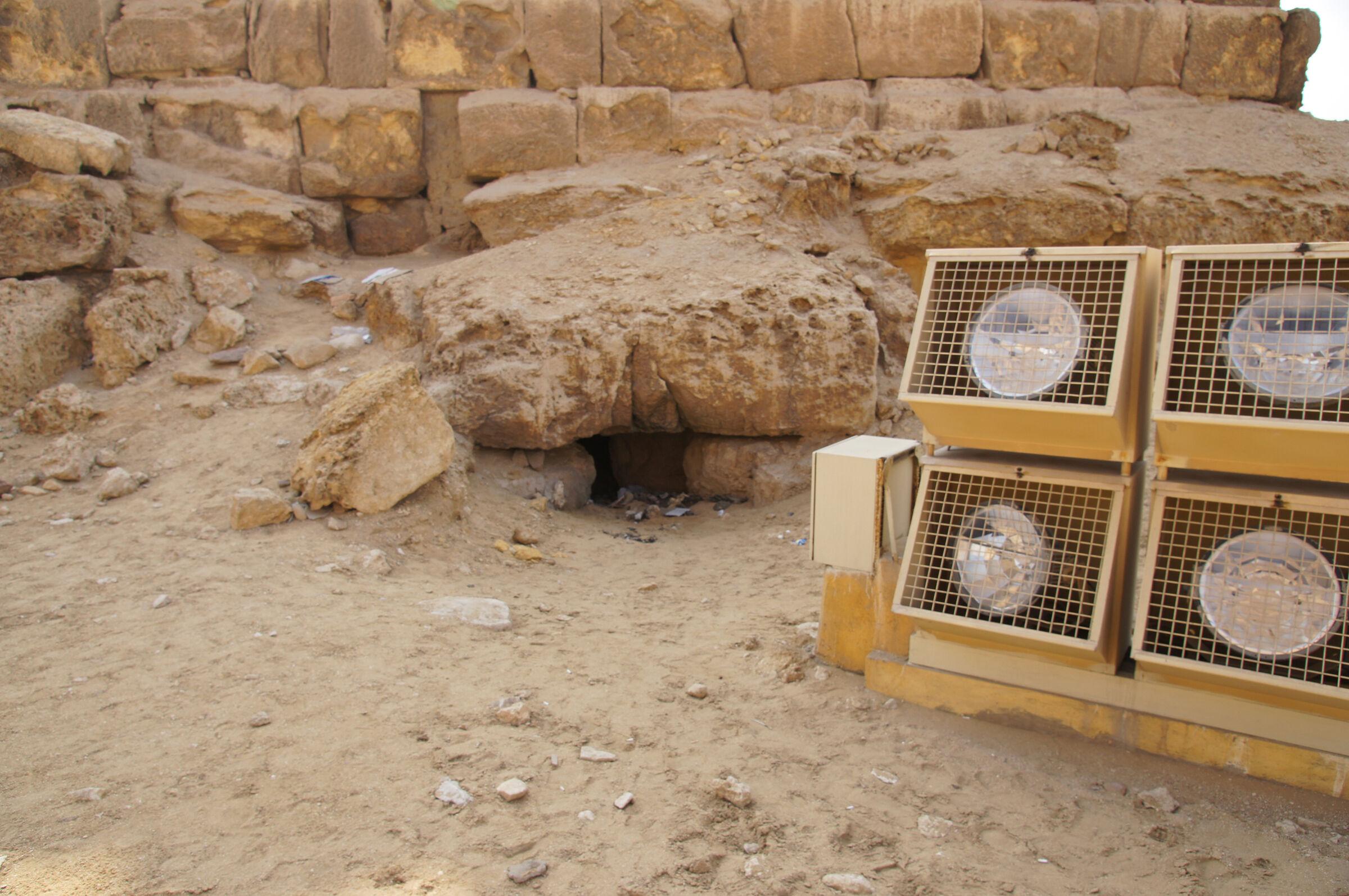 Menkaure Pyramid Complex: Site: Giza; View: G III-b