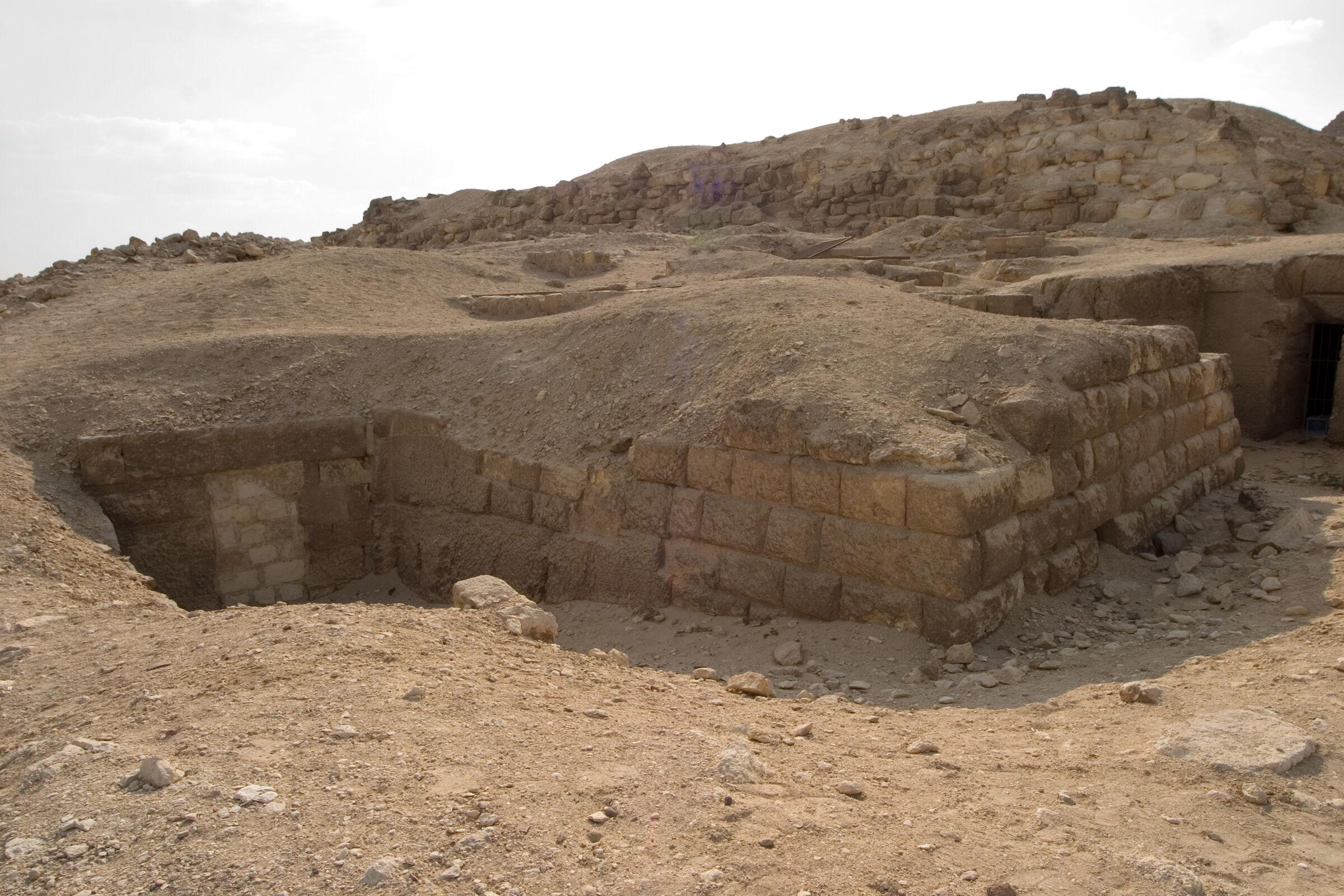 Eastern Cemetery: Site: Giza, View: G 7711, Lepsius 71