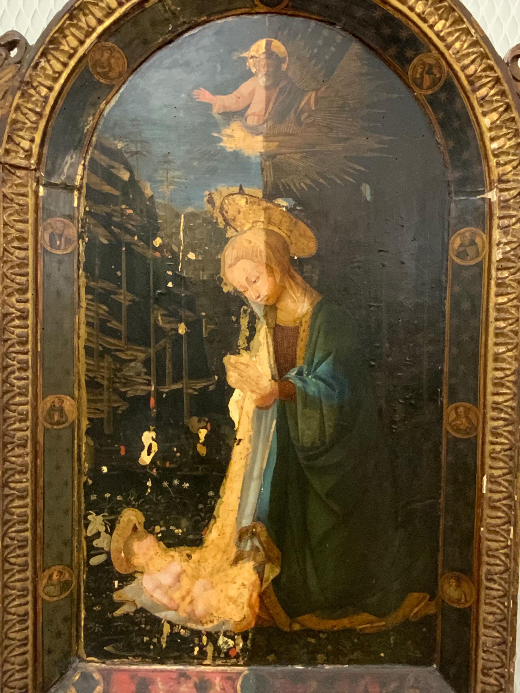 Virgin Adoring The Child