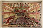 Perspective Picture of the Sakai-chō Theater, Edo (Uki-e Edo Sakai-chō shibai no zu)