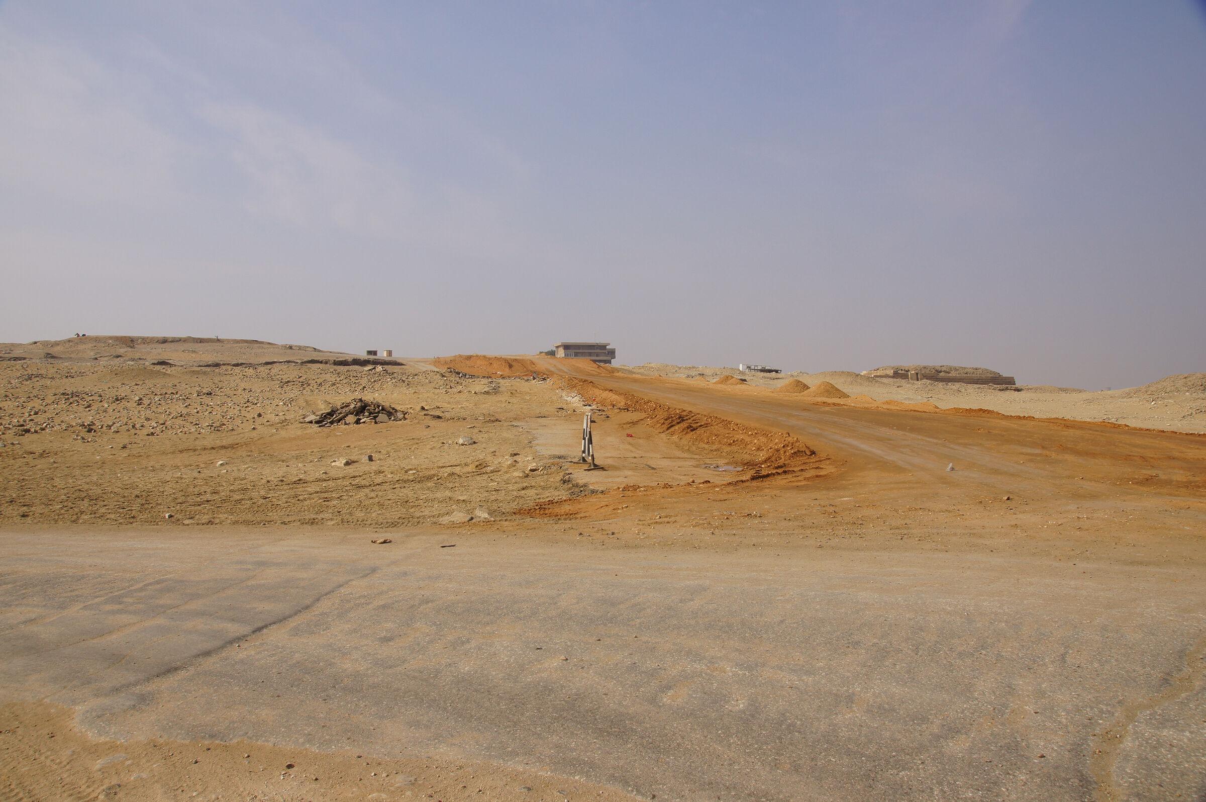 General view: Site: Giza; View: Harvard Camp, G 30