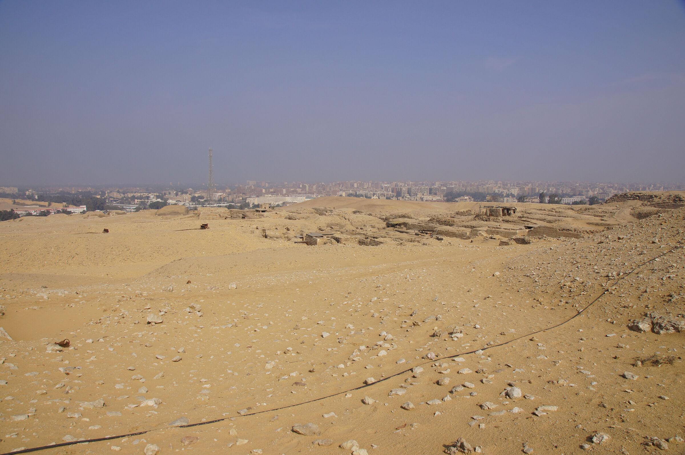 Western Cemetery: Site: Giza; View: Lepsius 19, G 2000, Cemetery G 1200, Cemetery G 1700, Cemetery G 1800