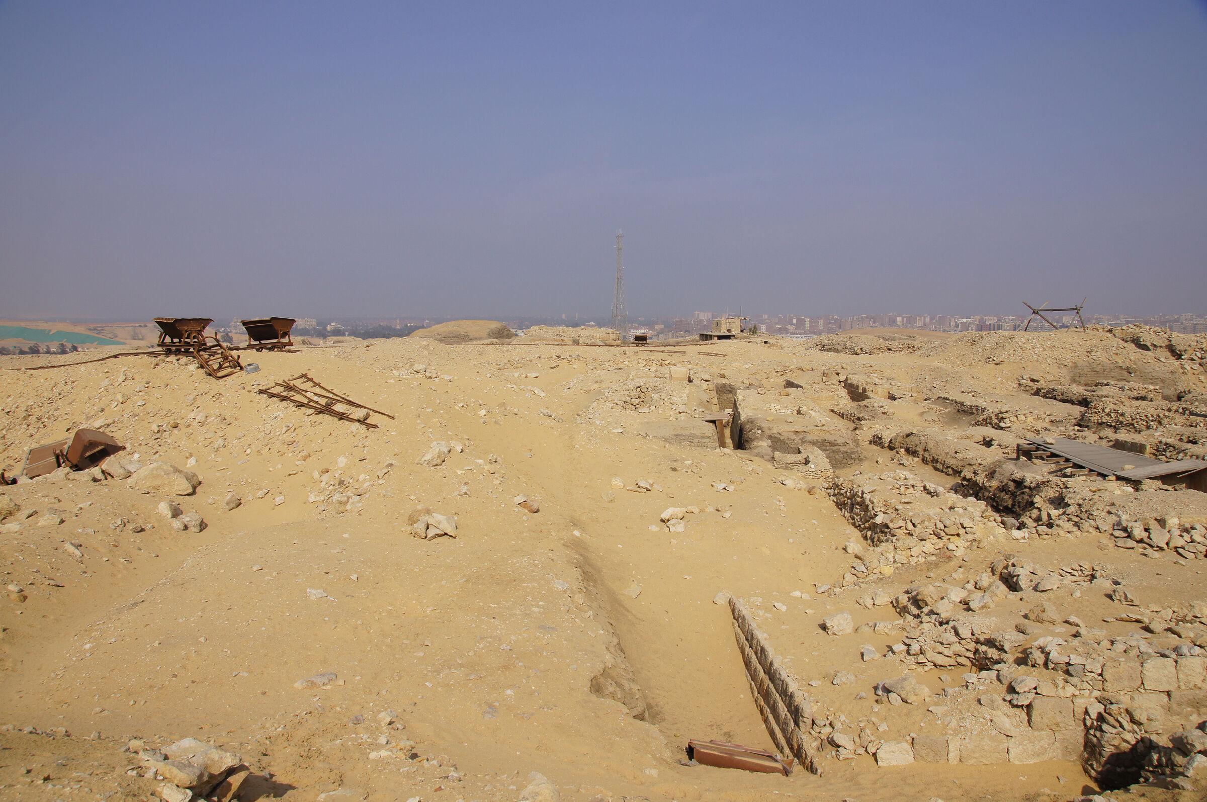 Western Cemetery: Site: Giza; View: Cemetery G 1700, Cemetery G 1800, Lepsius 19
