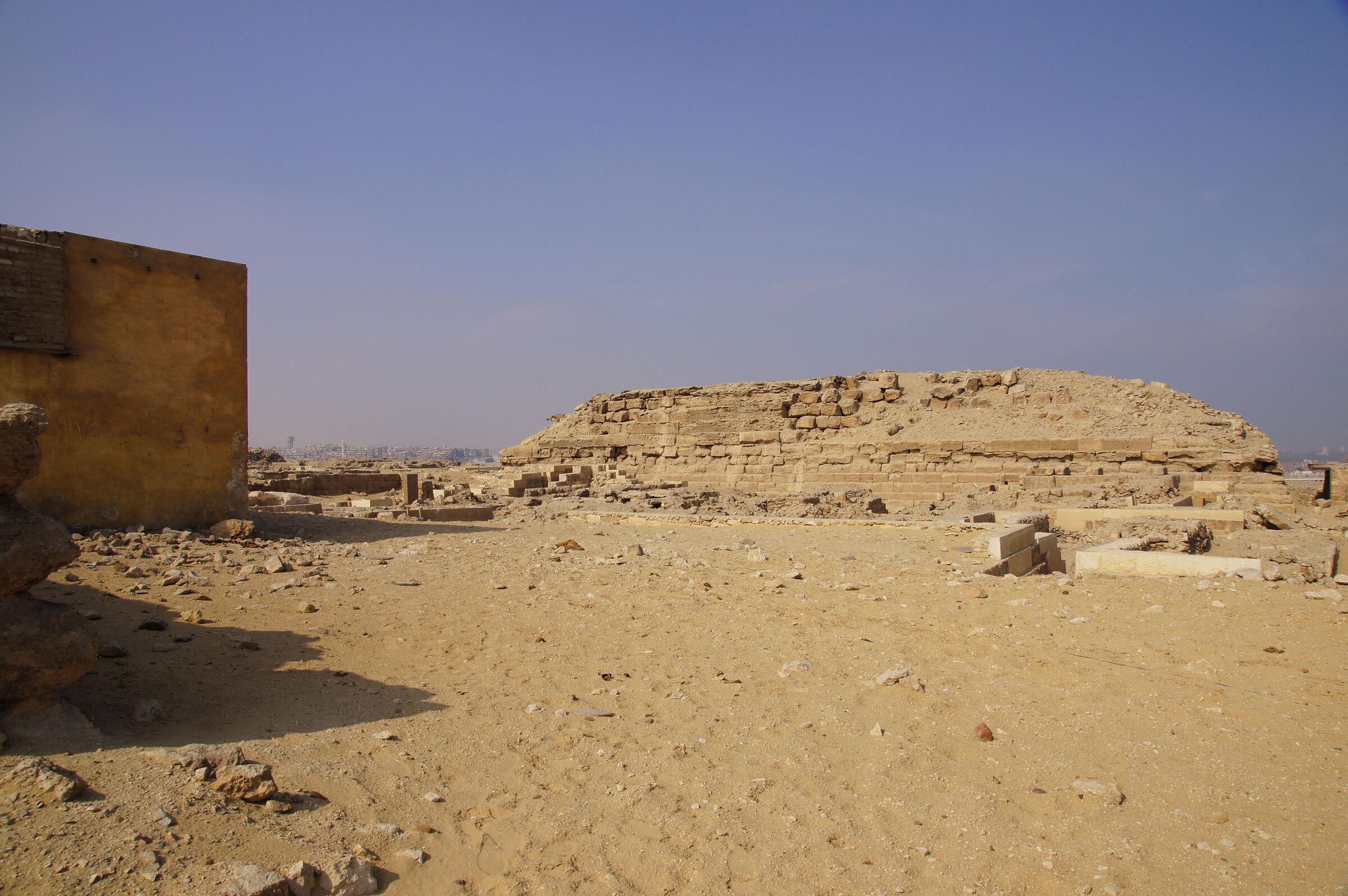 Western Cemetery: Site: Giza; View: Steindorff Cemetery, G 2000
