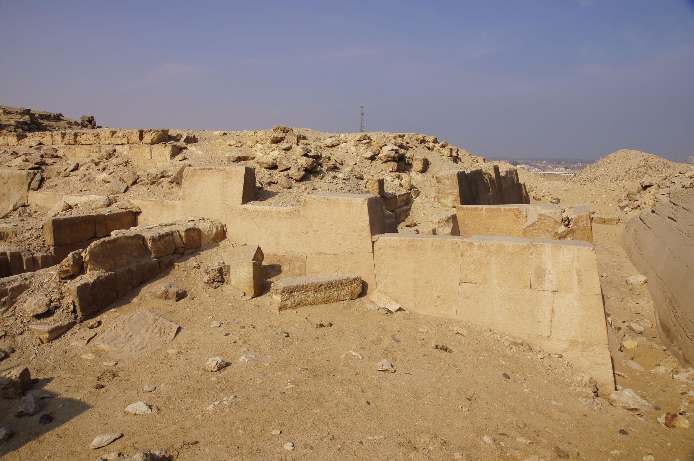 Western Cemetery: Site: Giza; View: G 2110, G 2112, G 2111, G 2113