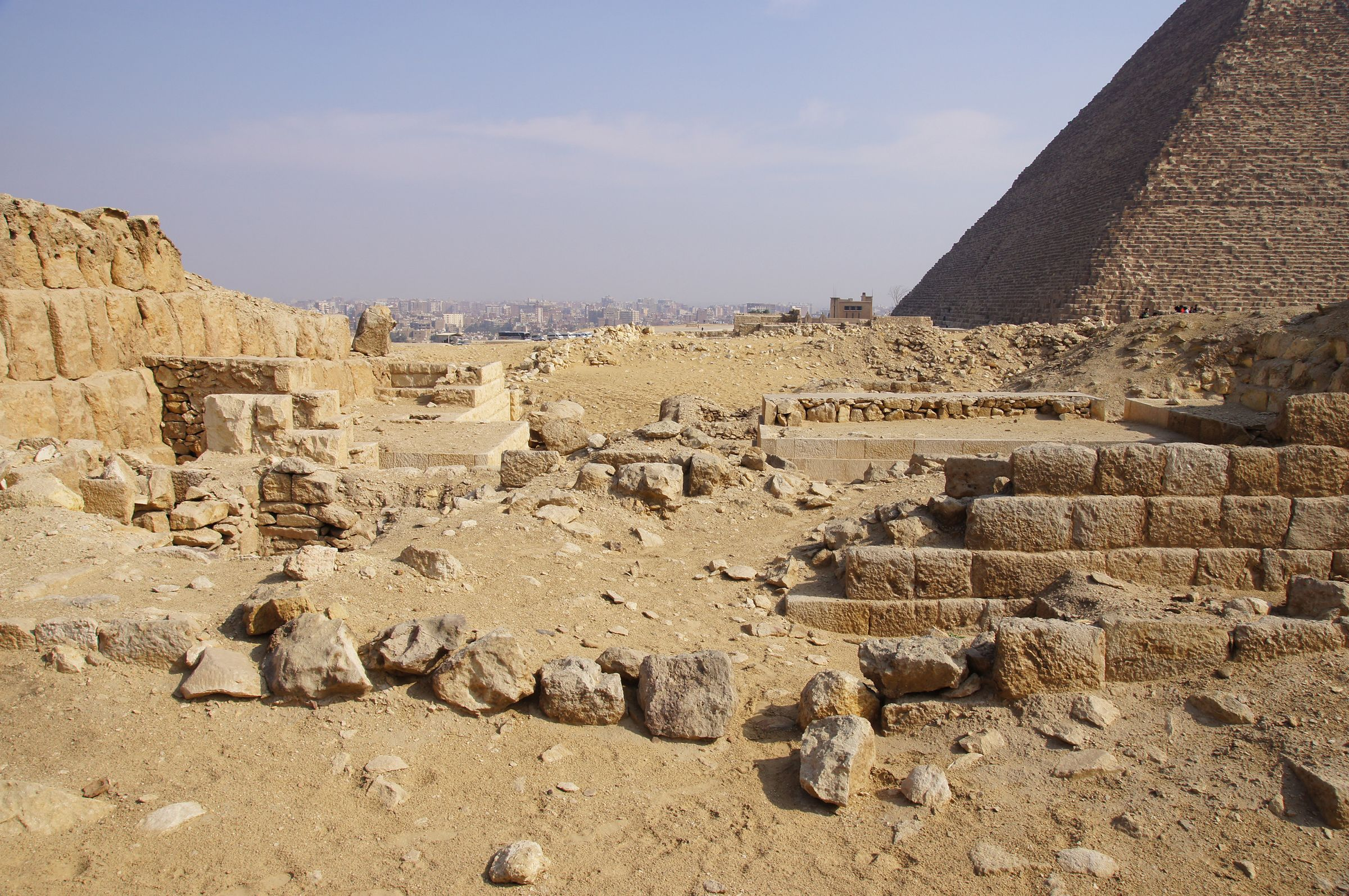 Western Cemetery: Site: Giza; View: G 2220, G 2150, G 2134, G 2137, G 2138, G 2139, G 2151, G 2156'