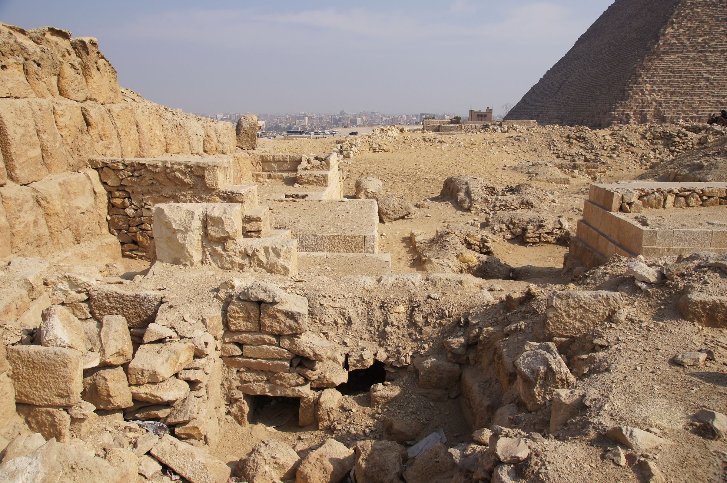 Western Cemetery: Site: Giza; View: G 2220, G 2150, G 2138, G 2139, G 2151, G 2156'