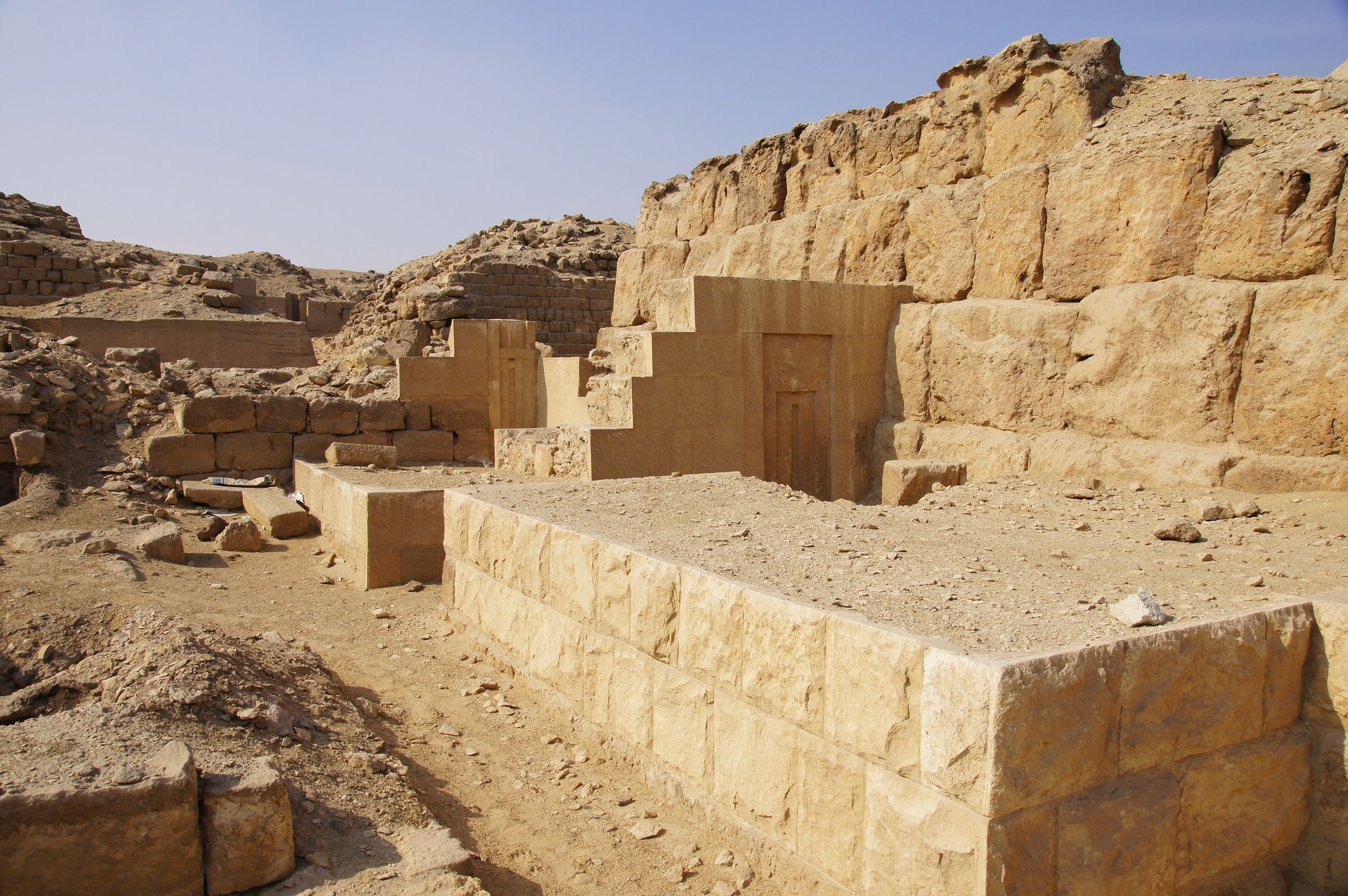 Western Cemetery: Site: Giza; View: G 2138, G 2134, G 2220, G 2210