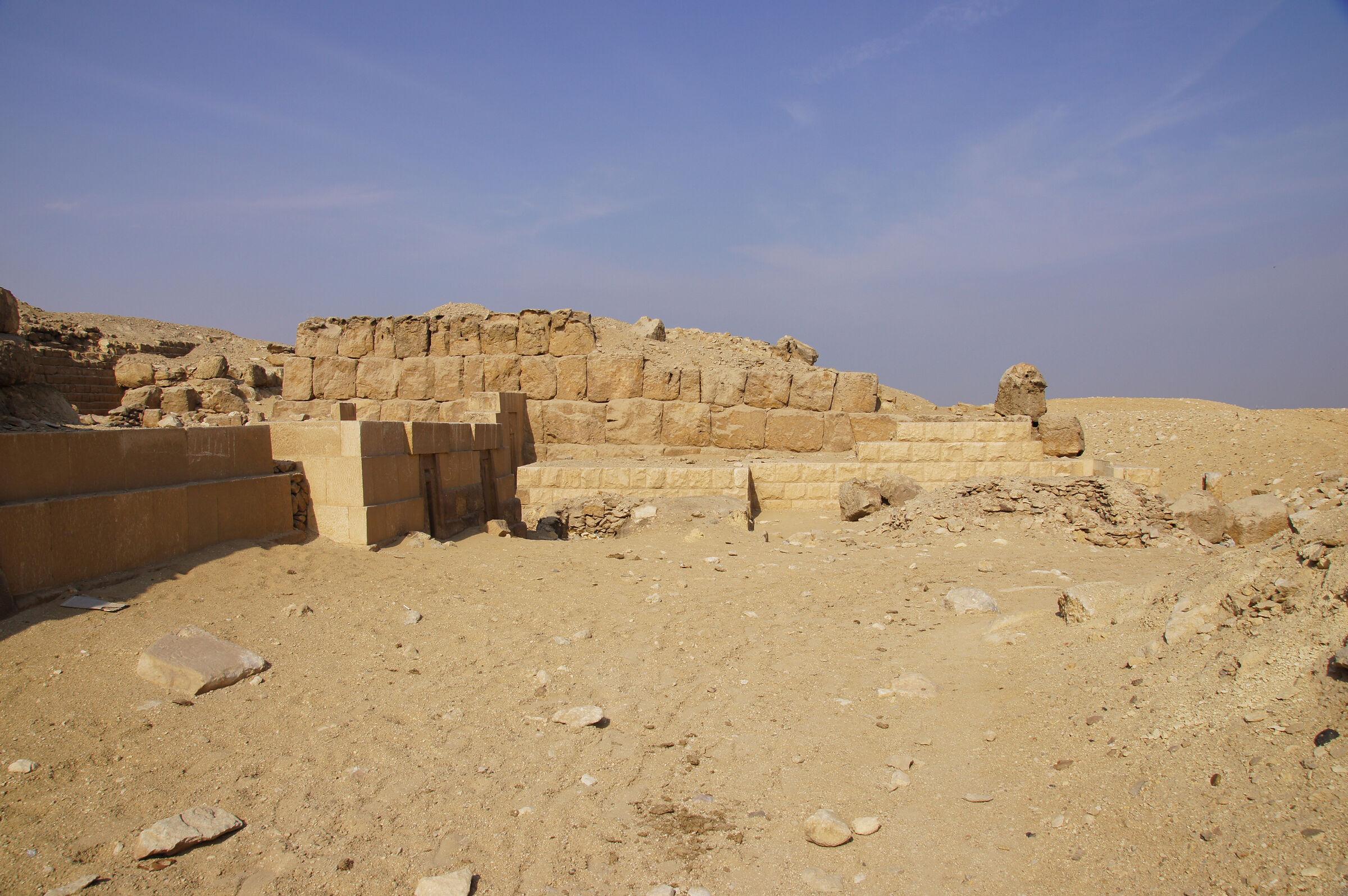 Western Cemetery: Site: Giza; View: G 2150, G 2151, G 2134, G 2138, G 2220
